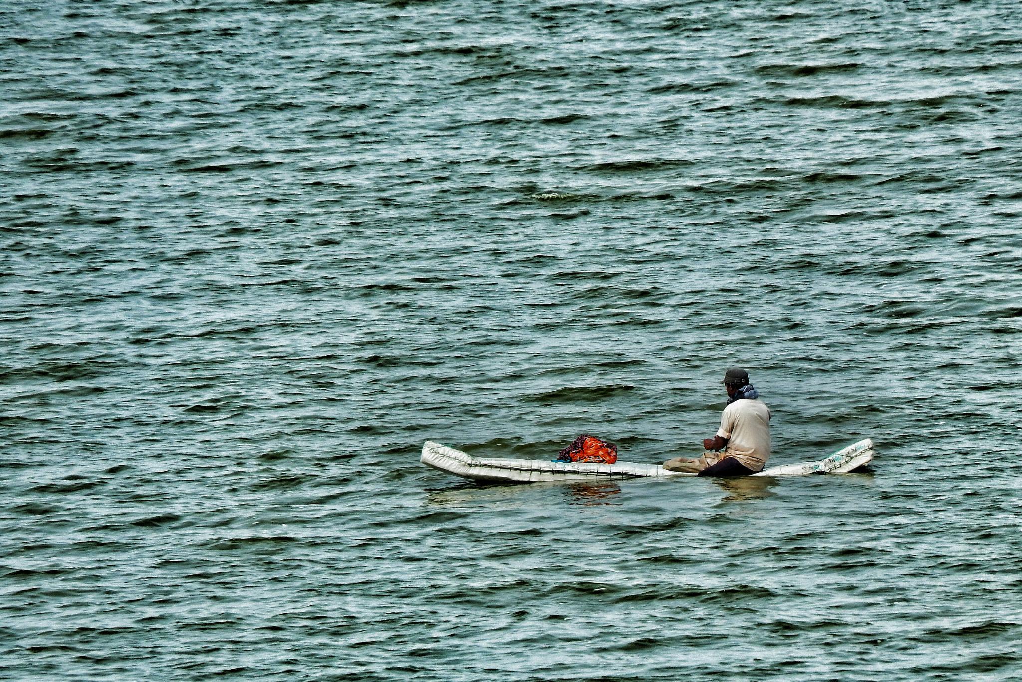 boatman by Aritra ghosh