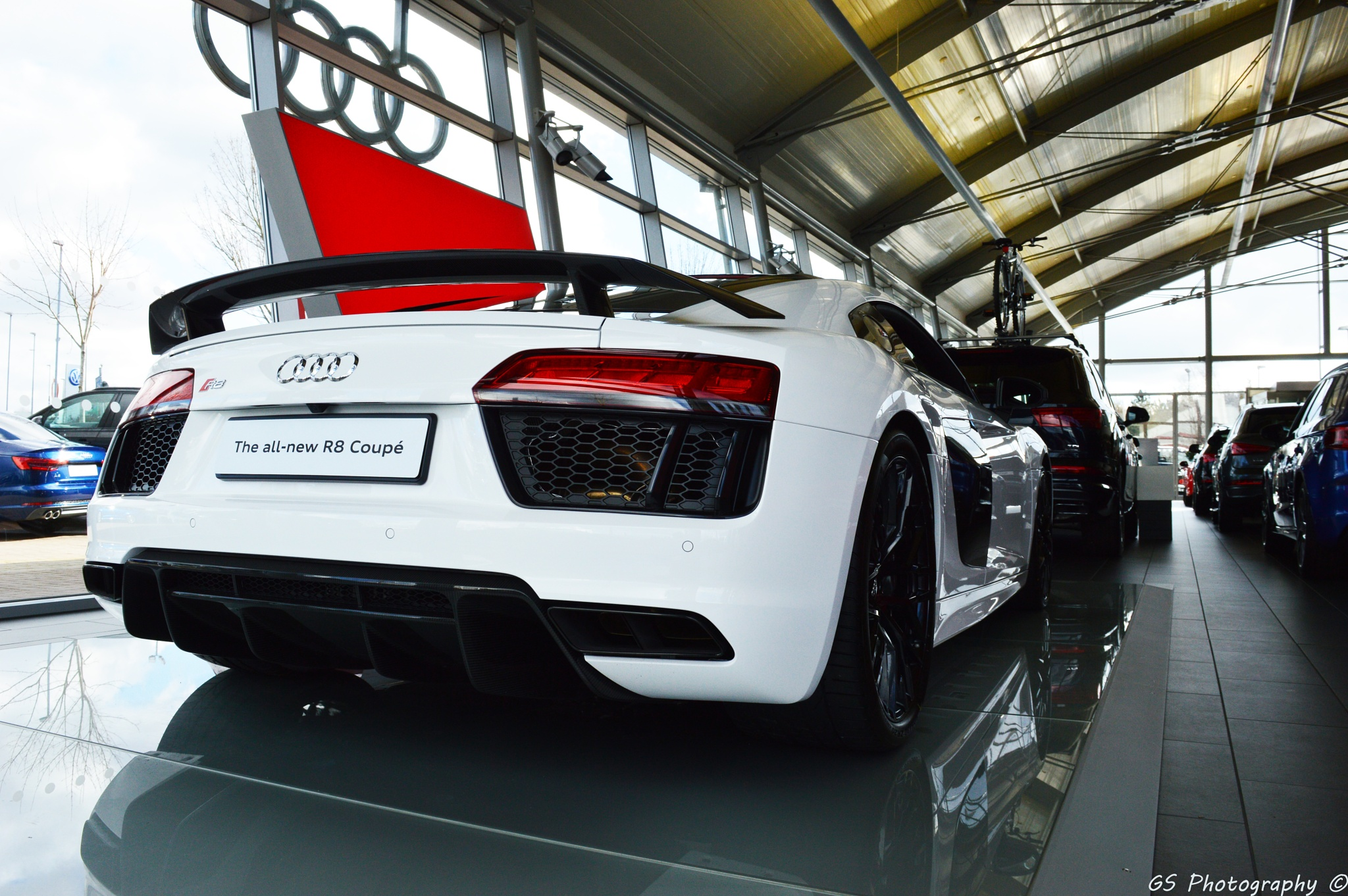 Audi R8 by GeorgeSmith Photography