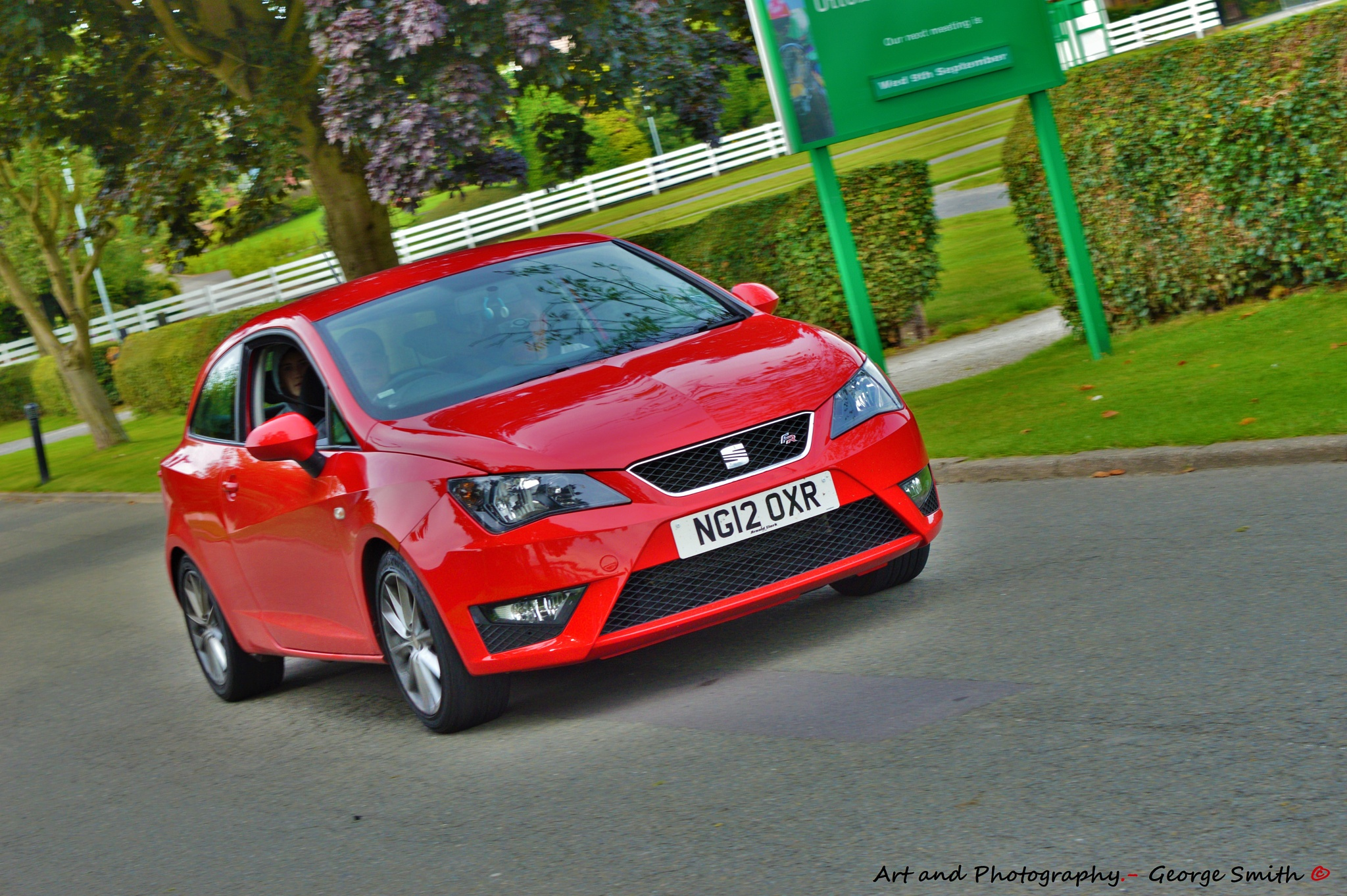 Seat Leon by GeorgeSmith Photography