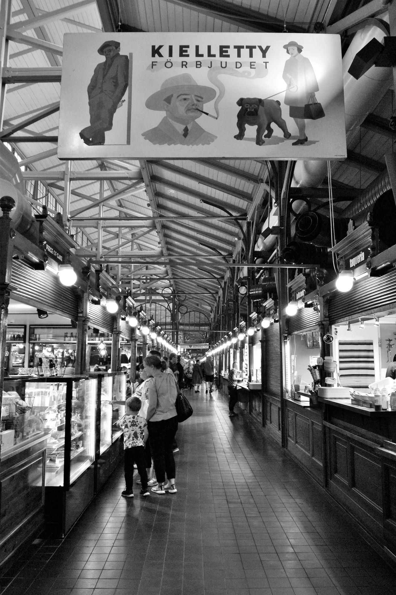 The Old Market Hall by Mikko Brigatjev