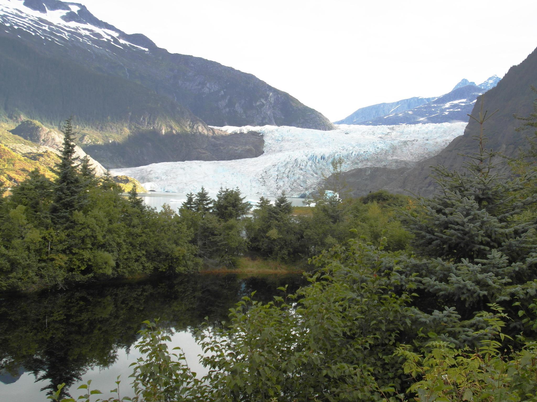 Mendenhall Glacier by Ada Montalvo