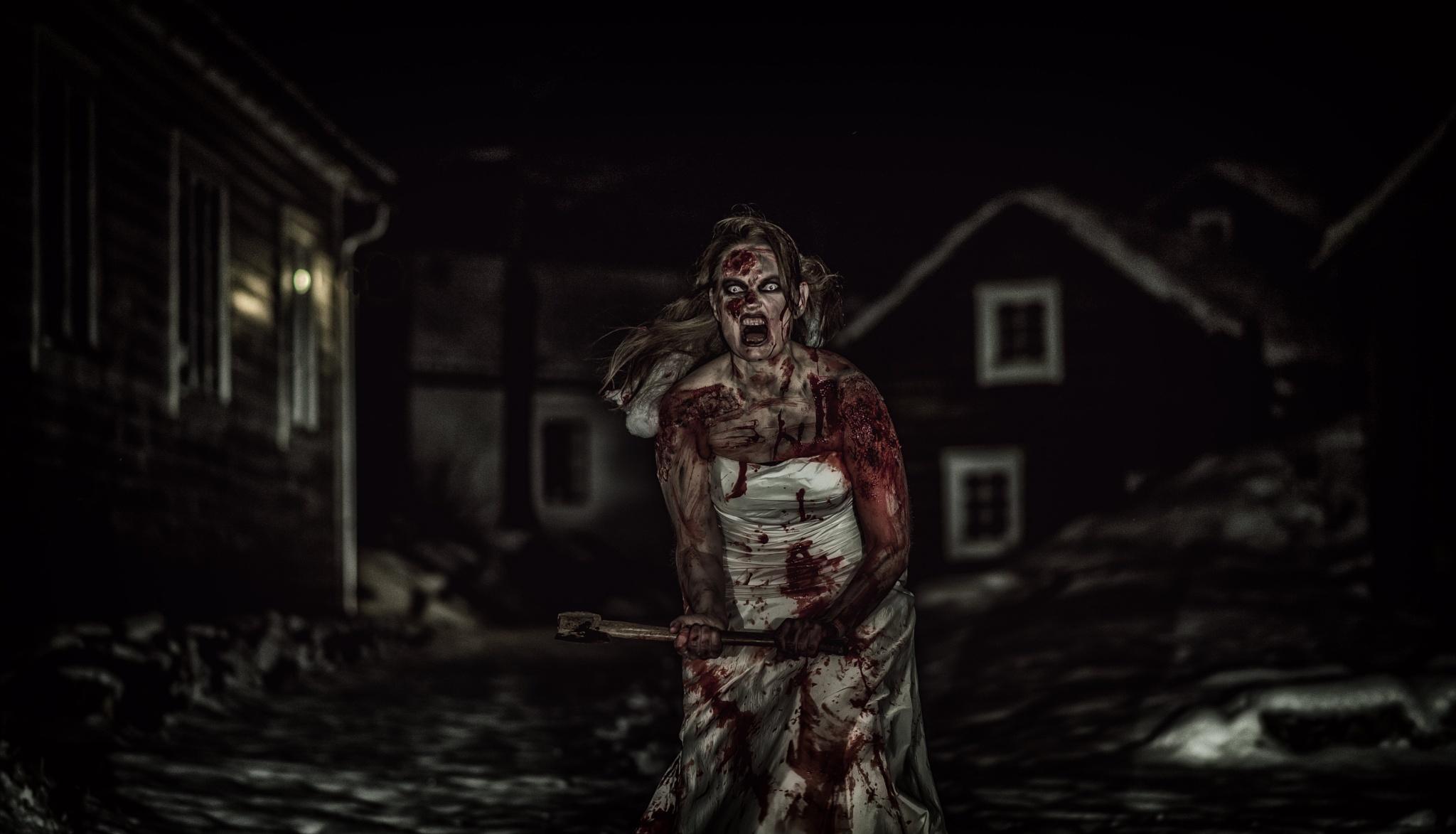 Zombie Bride 4 by Jørn Lavoll