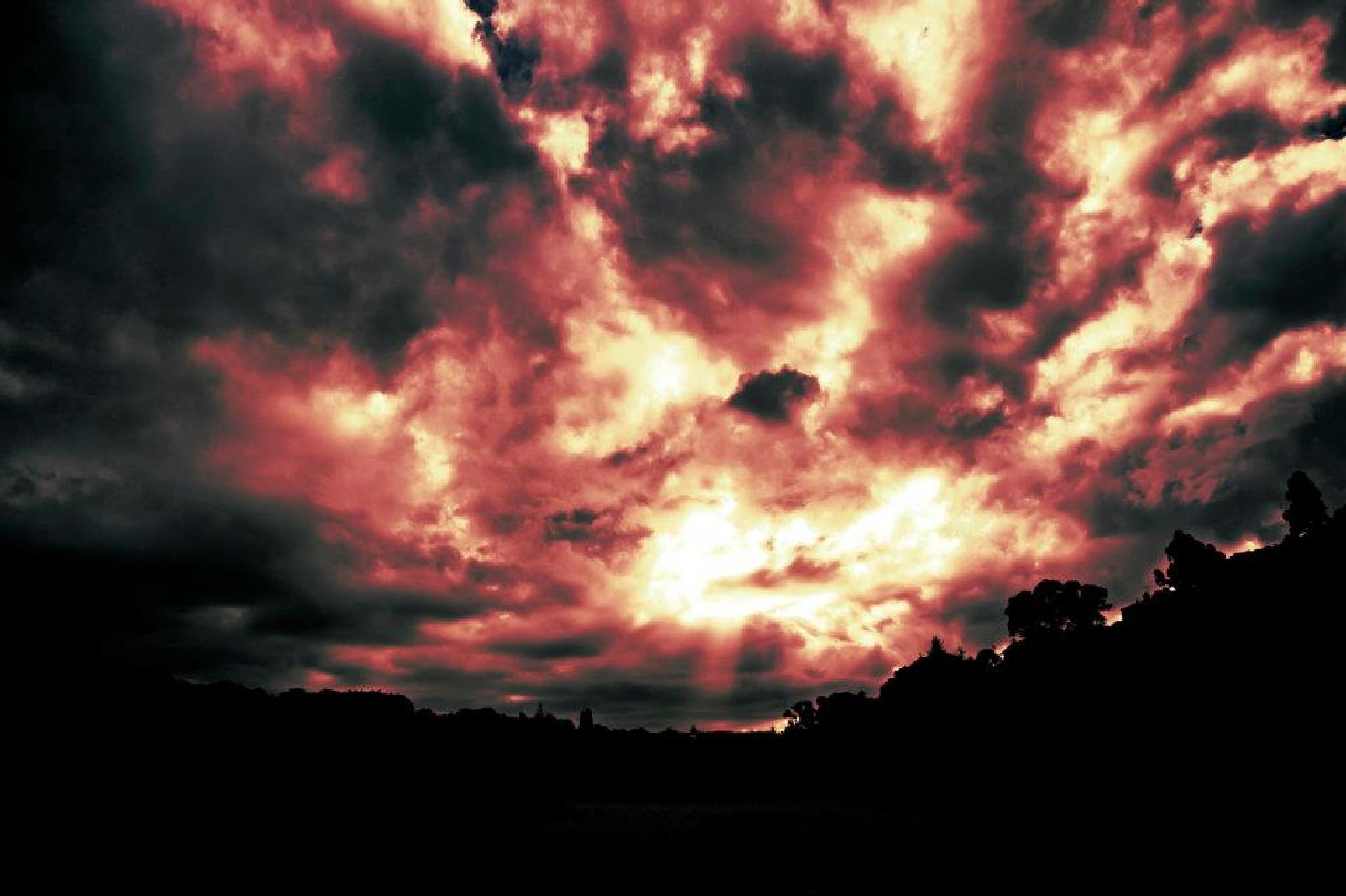 Burnt Sky by Aaron Aldridge