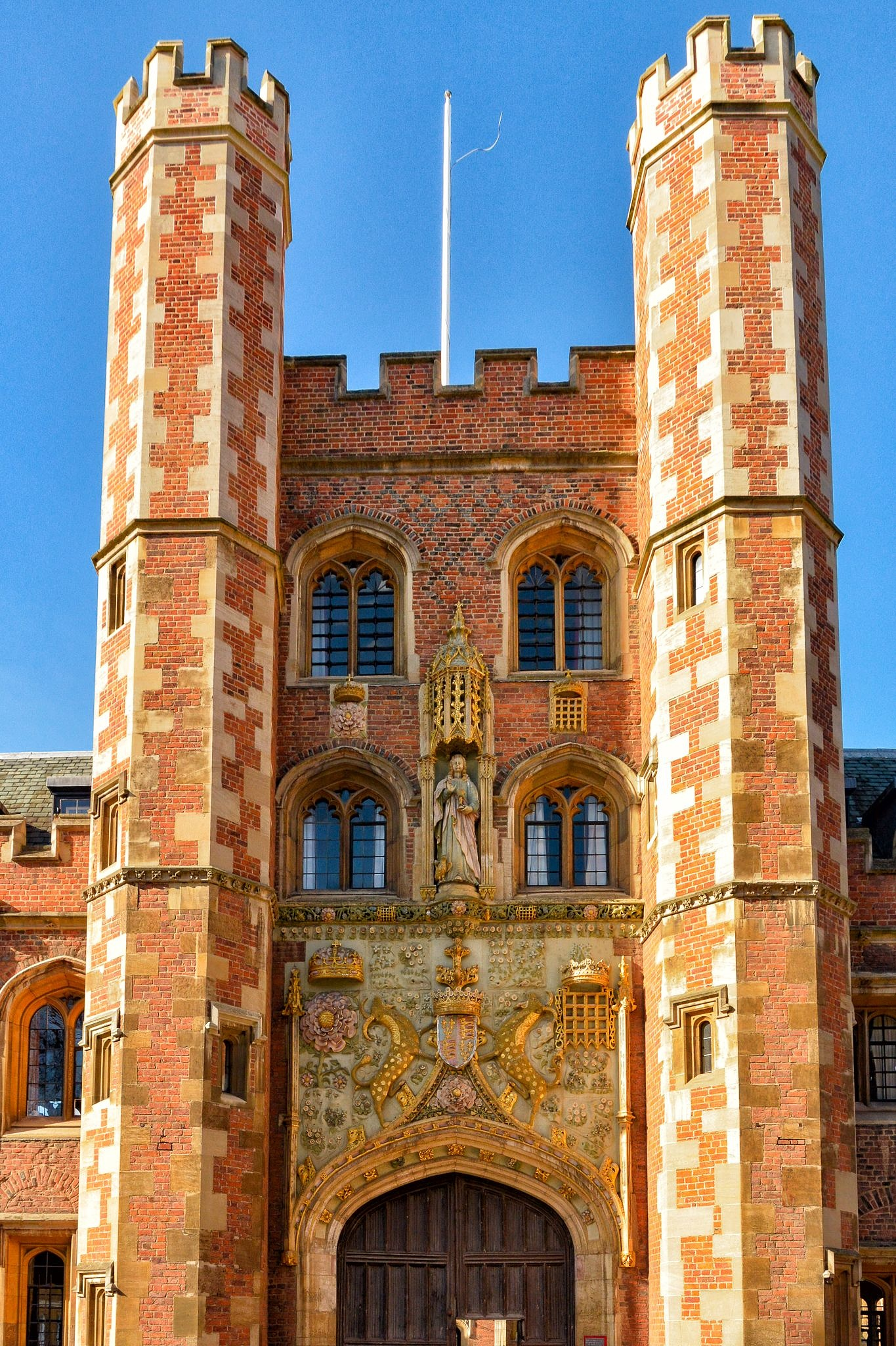 Christchurch College, Cambridge by Ian Reynolds