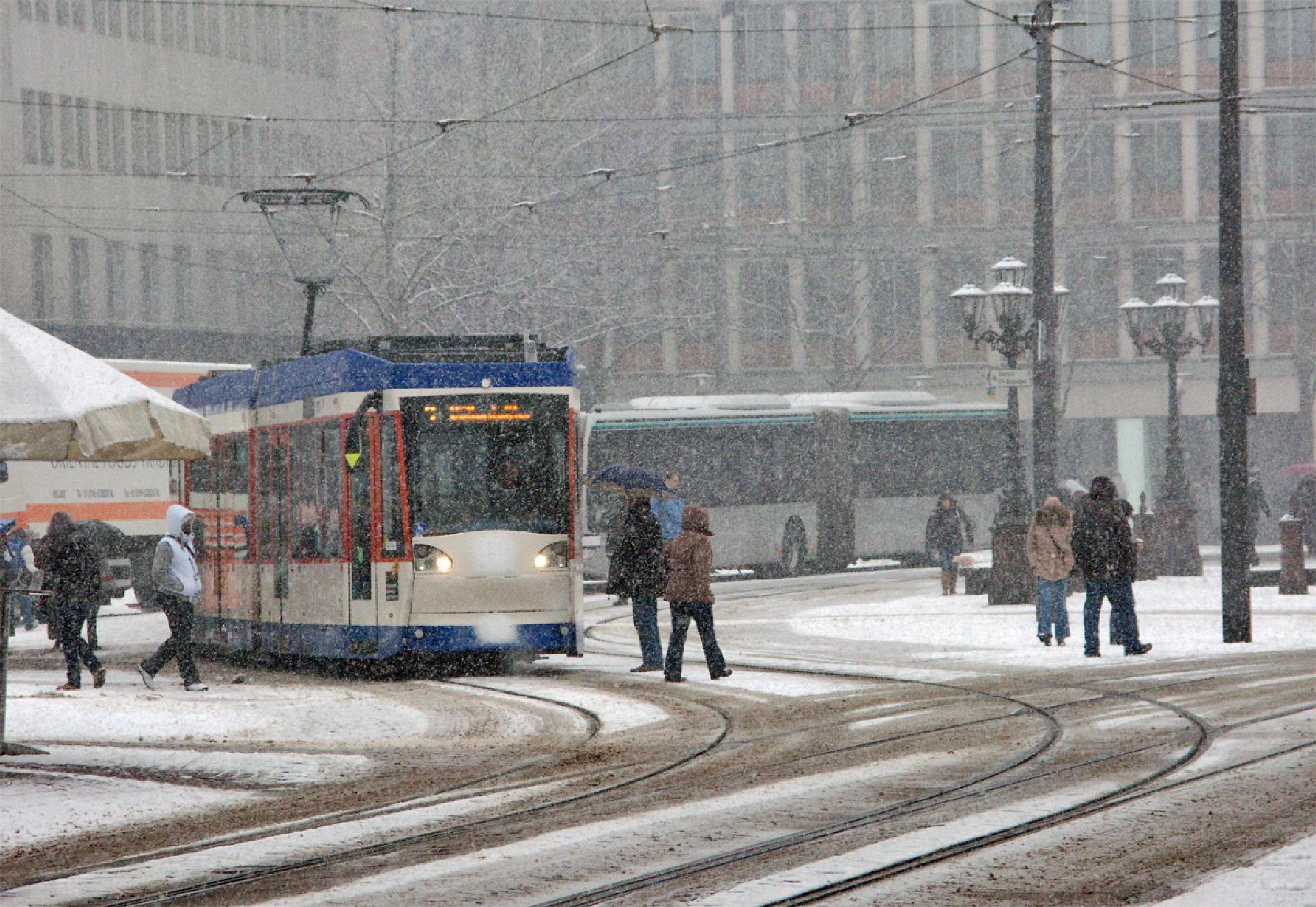 Winter in Darmstadt by karlvock