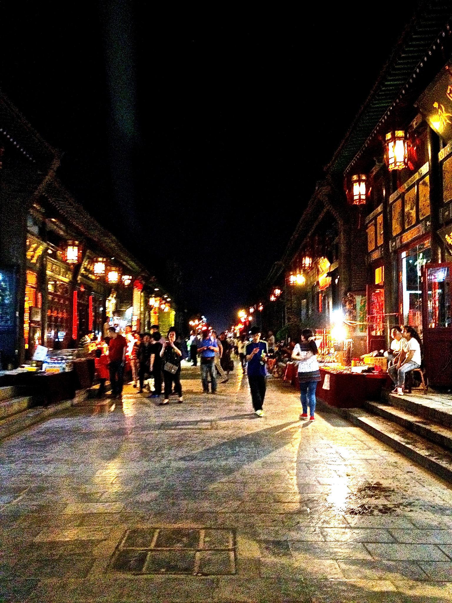 Streets At Night by Vivian