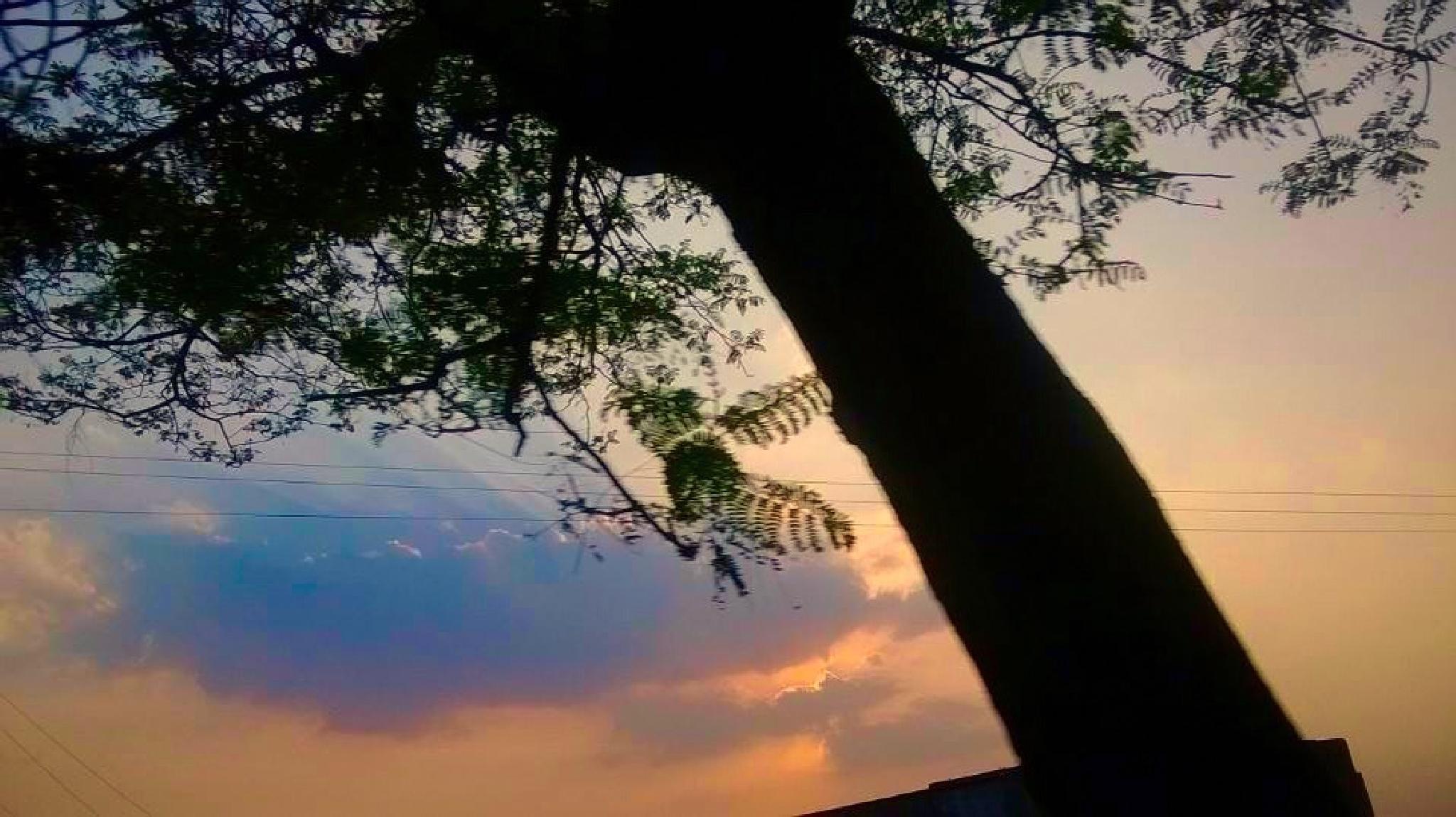 Sunset..... by Anjana Chakraborti