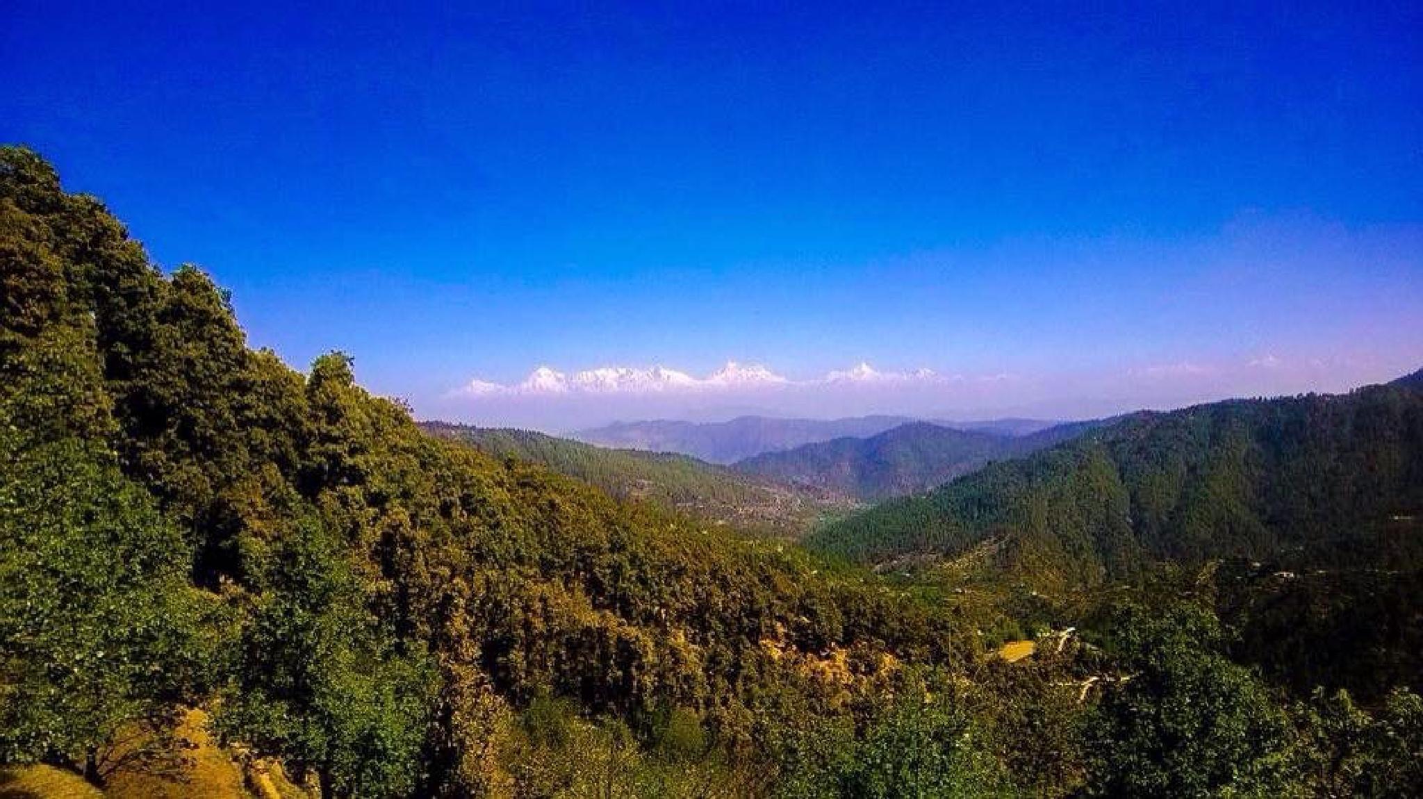 The mighty Himalayas.... by Anjana Chakraborti