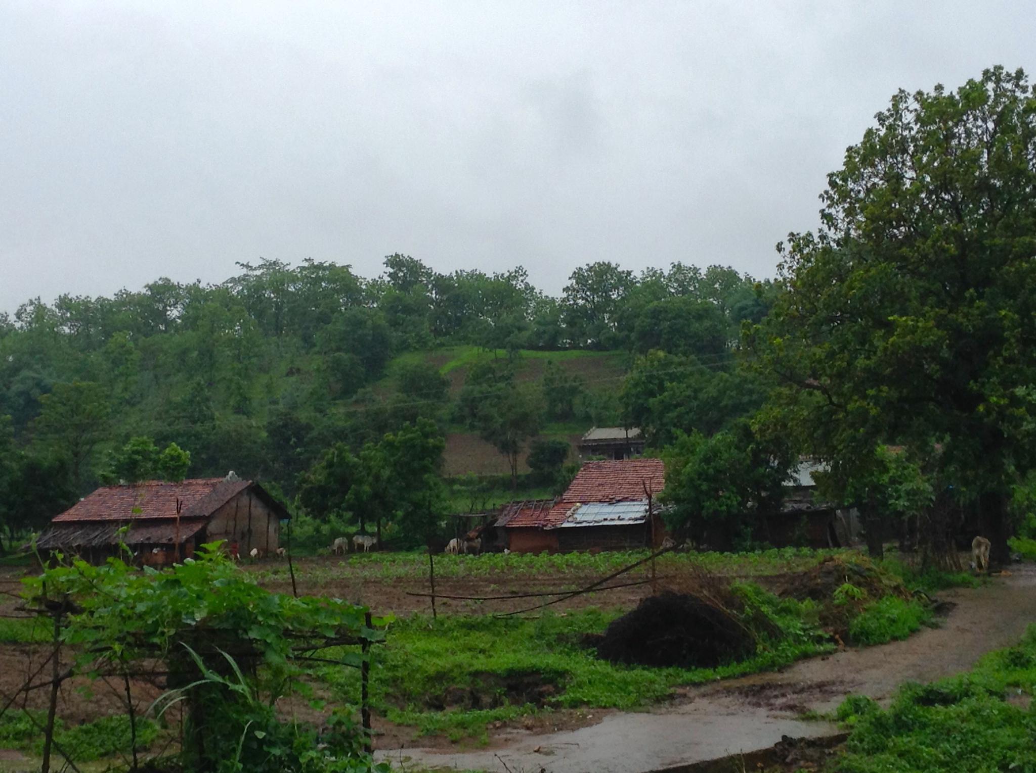 Romantic rains.... by Anjana Chakraborti