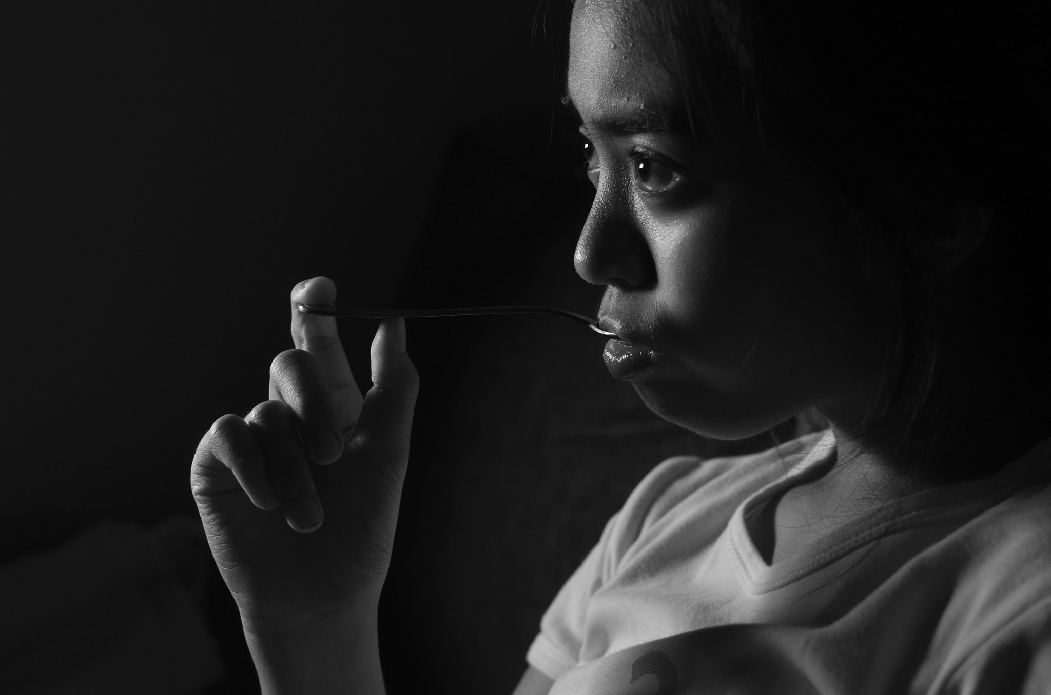 Black And White Portrait! by Yulius B Susilo