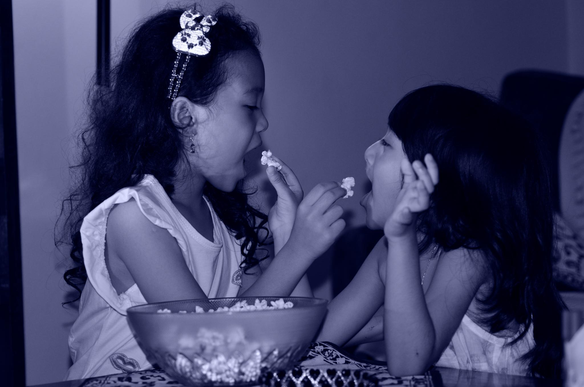 The Way We Enjoying Popcorn by Yulius