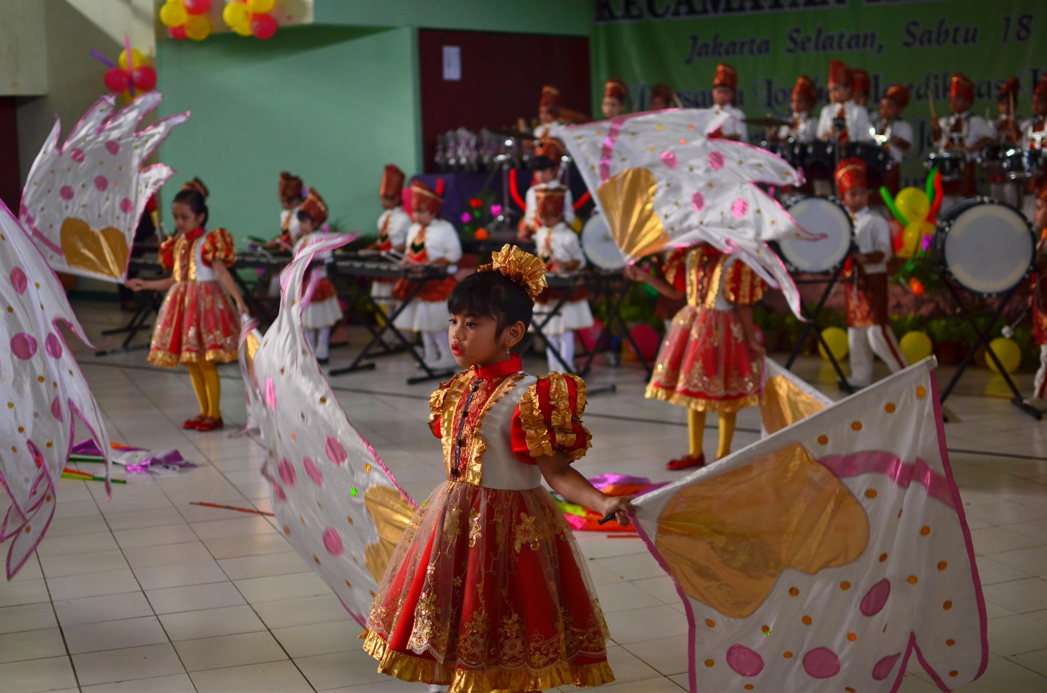 Preschool Marching Band by Yulius