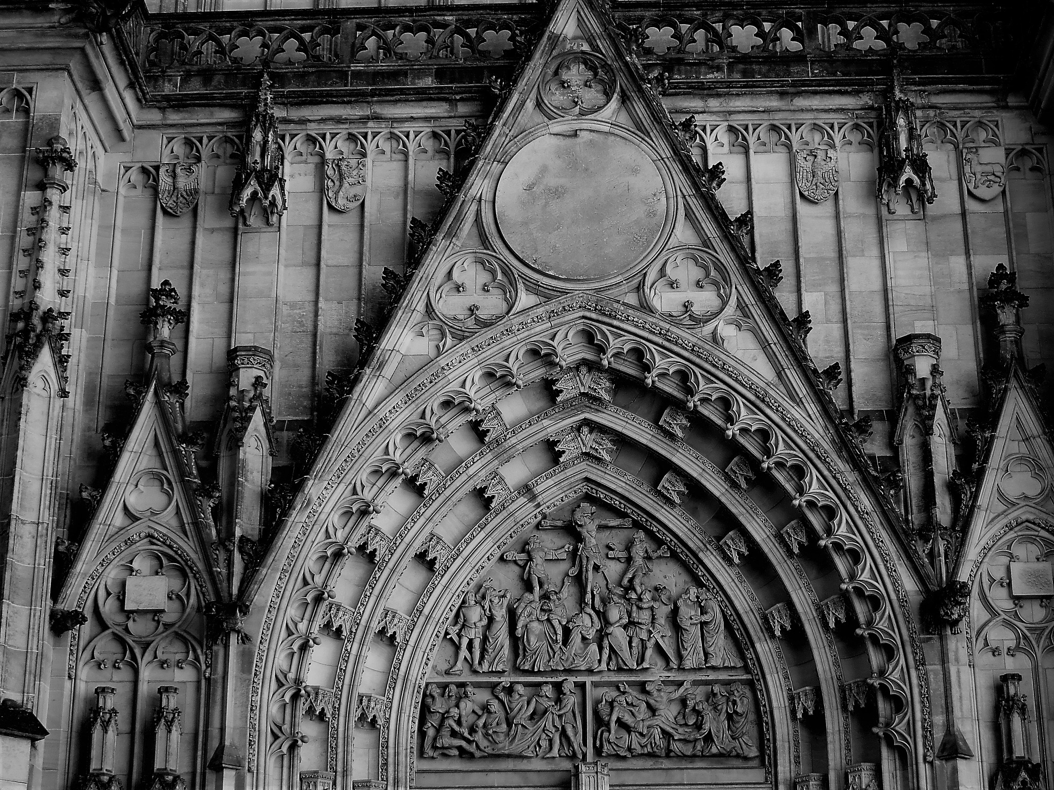 Gothic relief by Barbara Stockford
