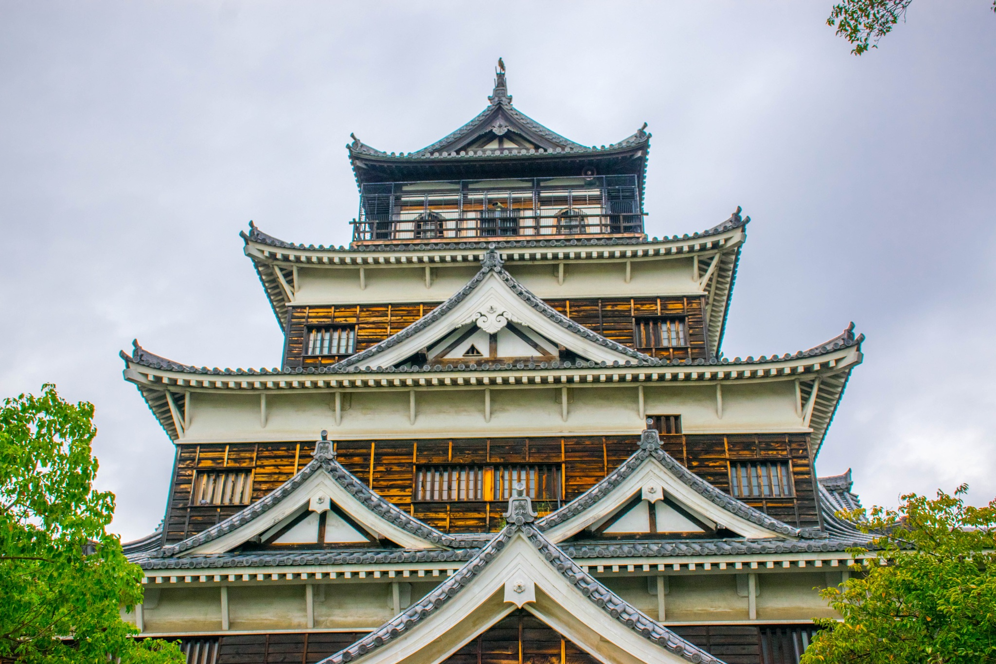 Hiroshima Castle by Kumical