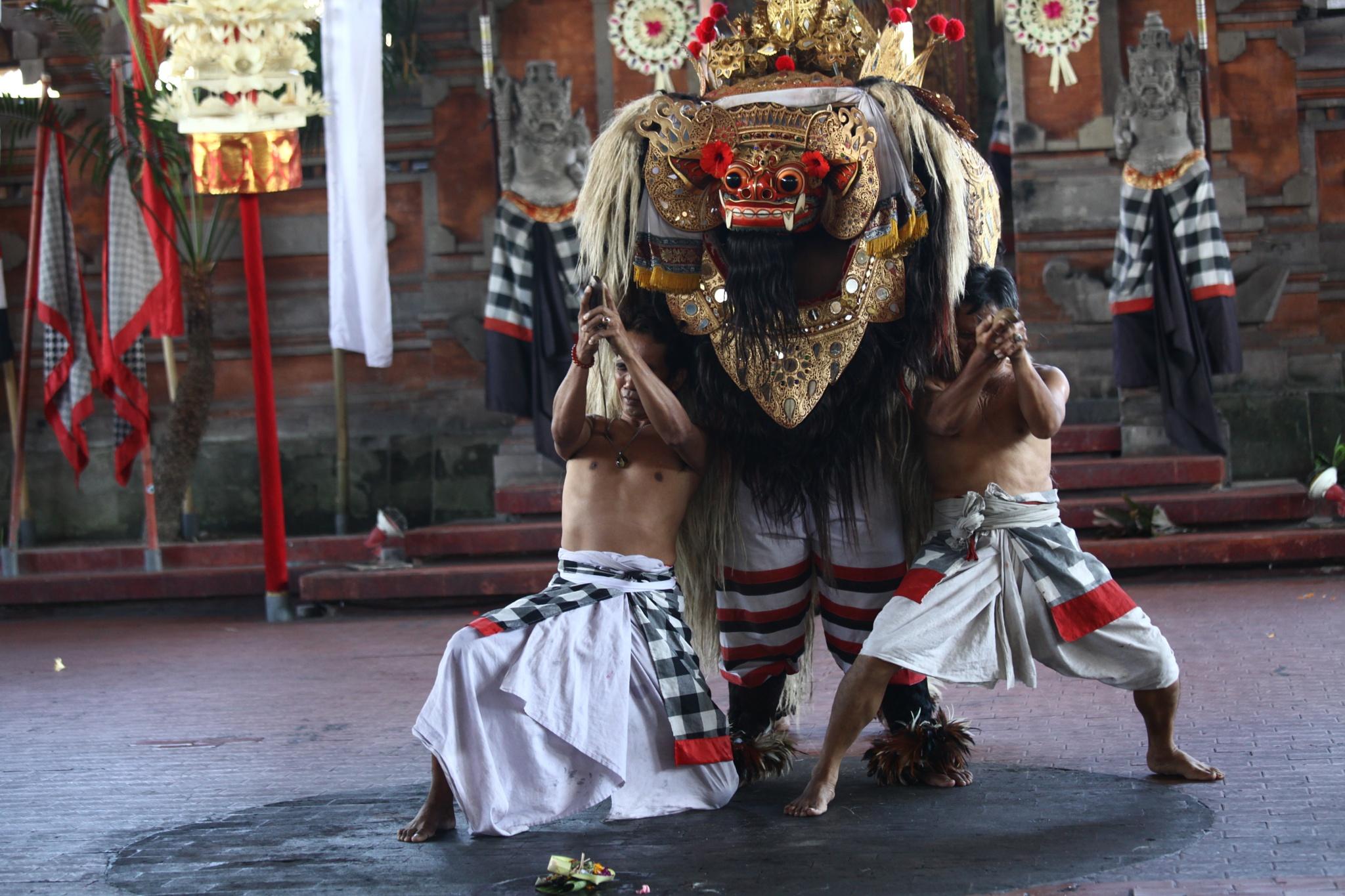 Barong Dance - Ubud - Bali by liongcewong