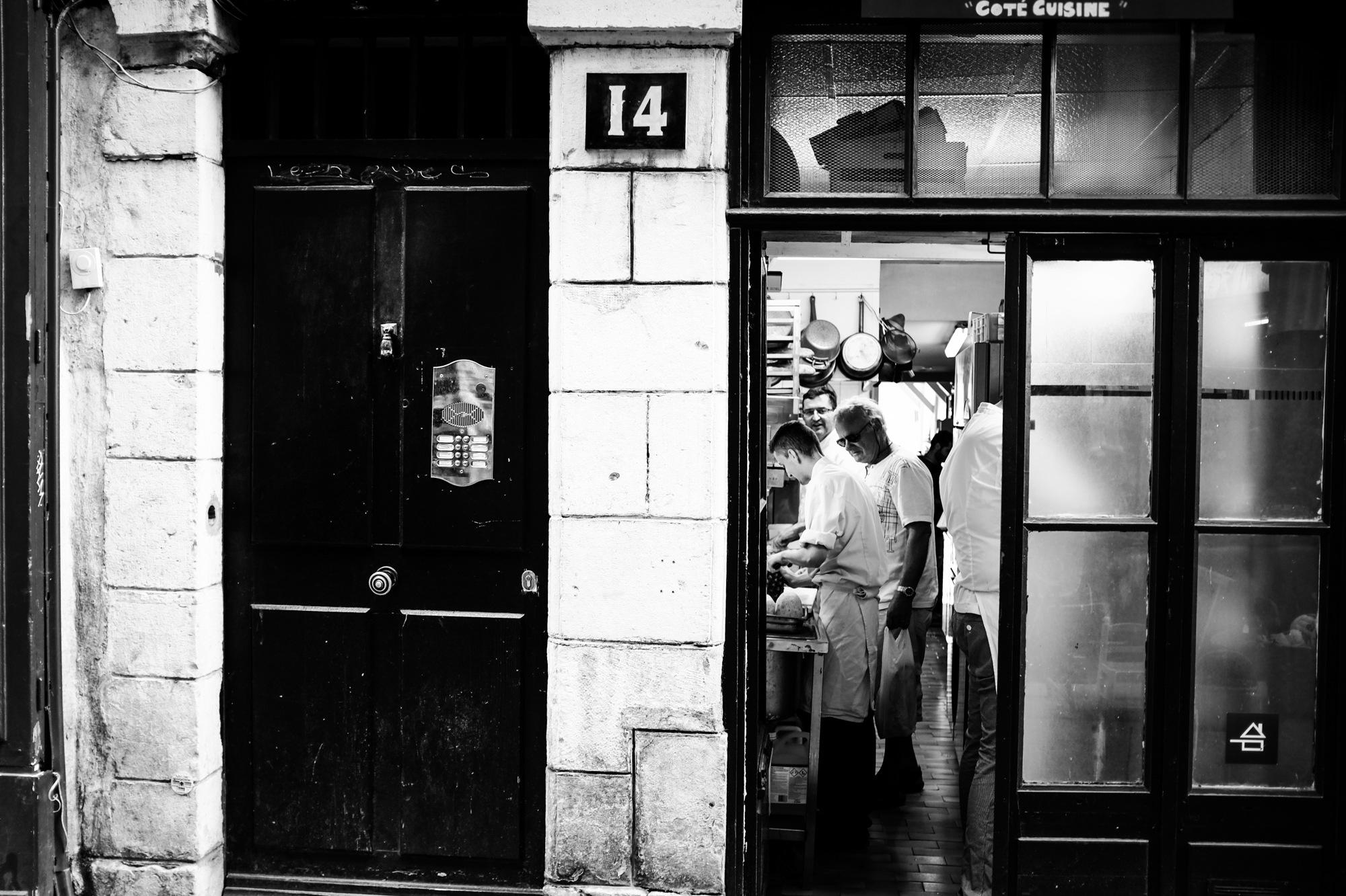 Commis chef. by Cédric Ortiz