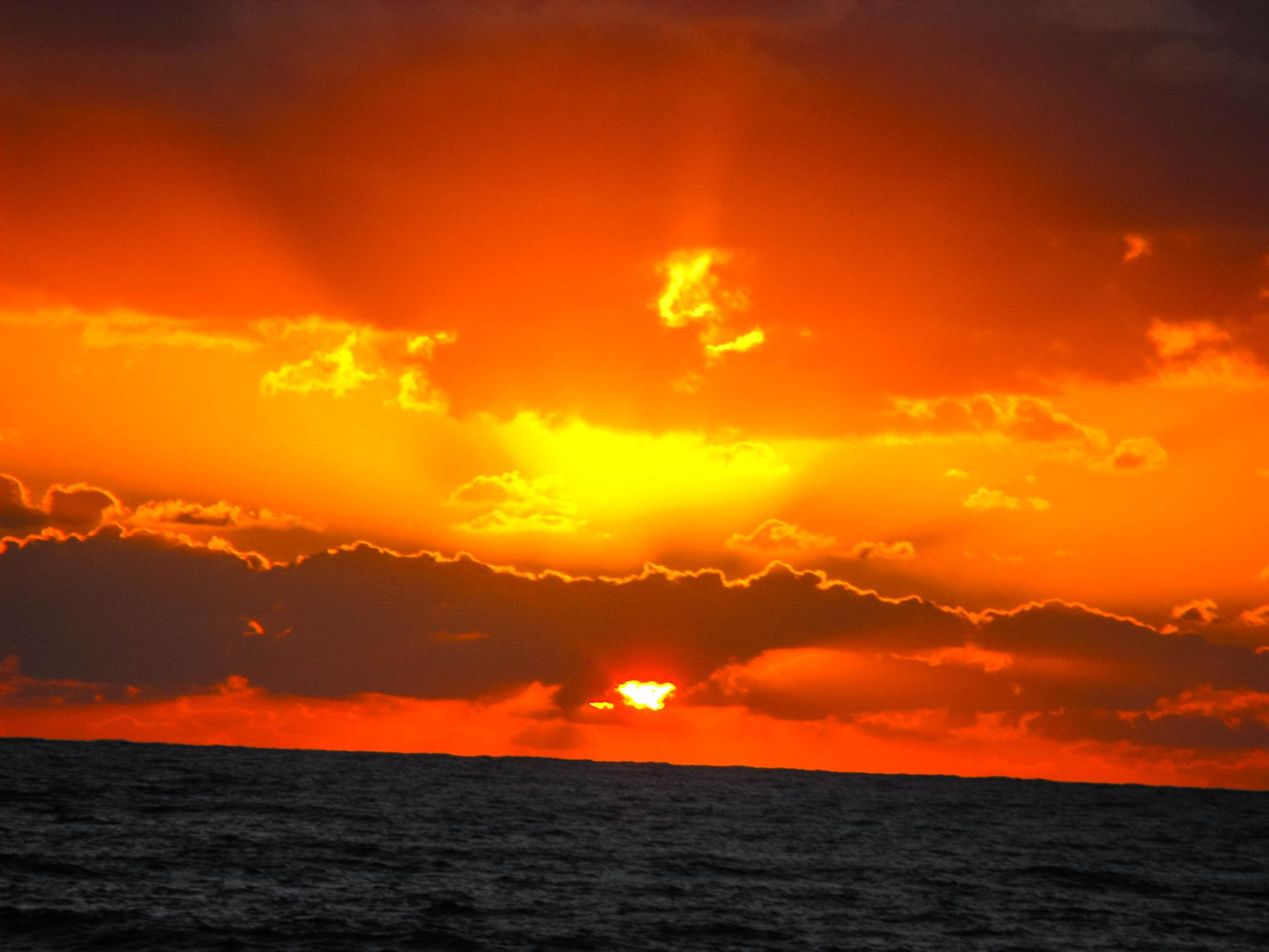 Cyprus sunset by Karlos