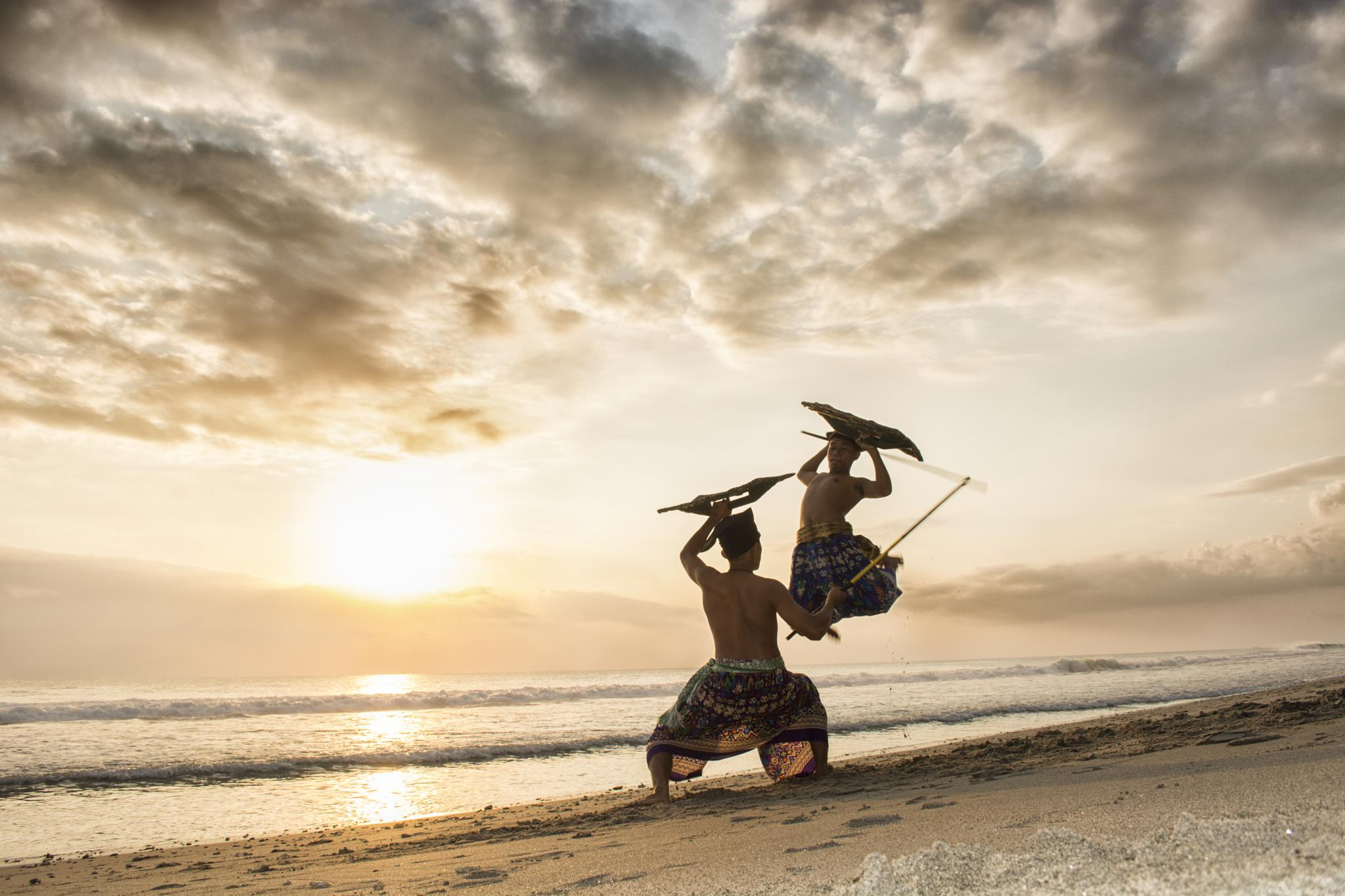 the perisaian - lombok traditional fighter by adhiewk