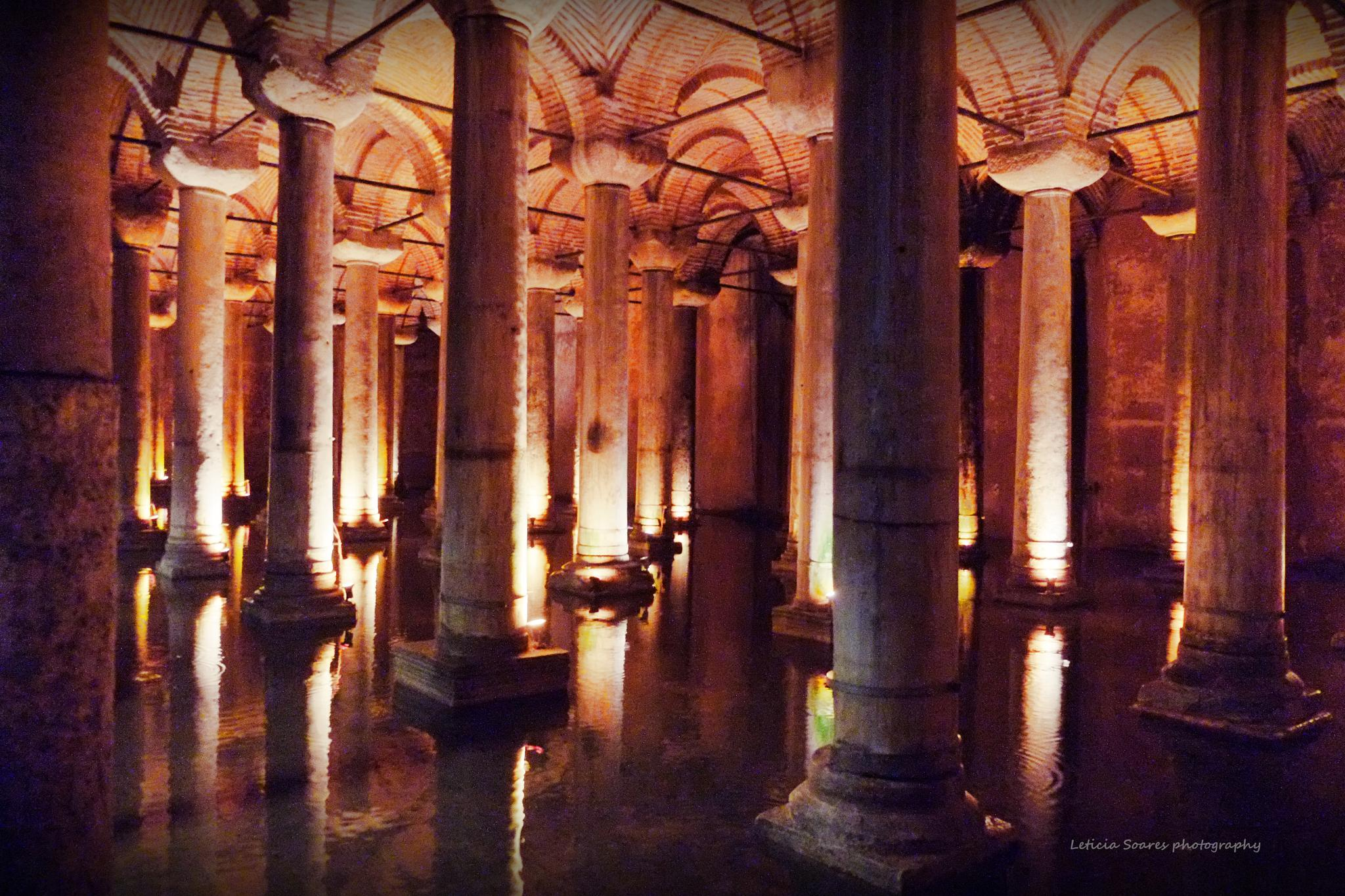 BASILICA CISTERNS OF ISTANBUL by letportomaia