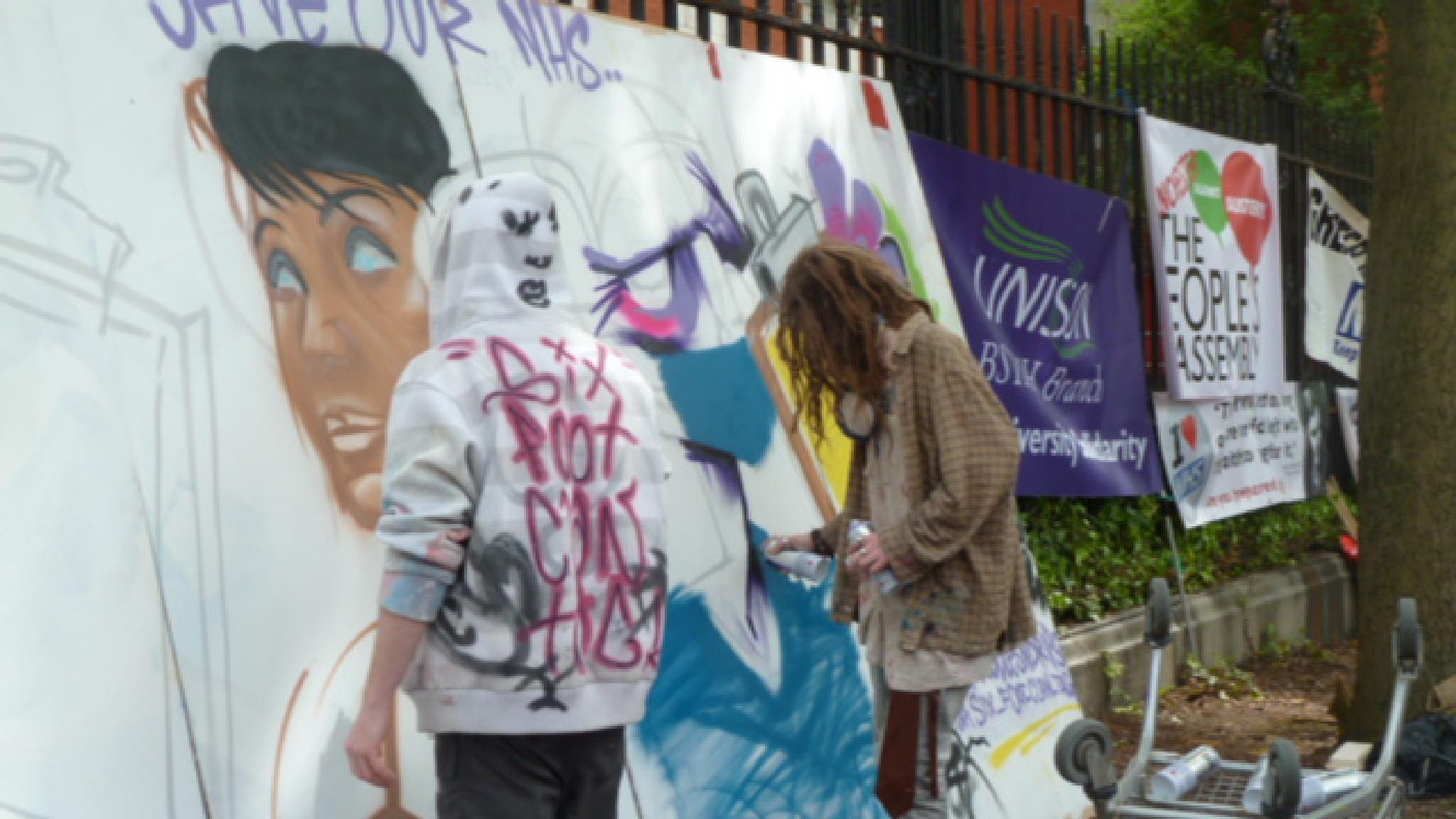 Street Art  by MikeyK