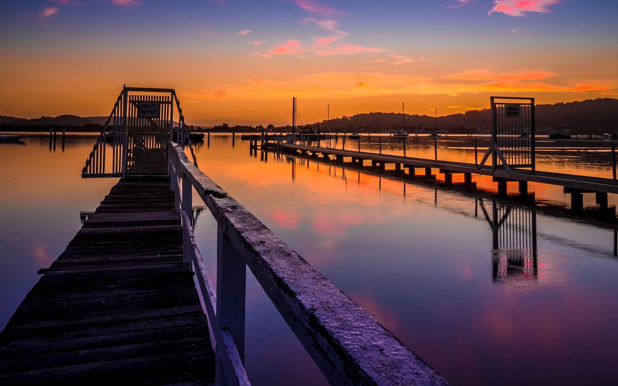 Jetty's sunrise by PepeRojas