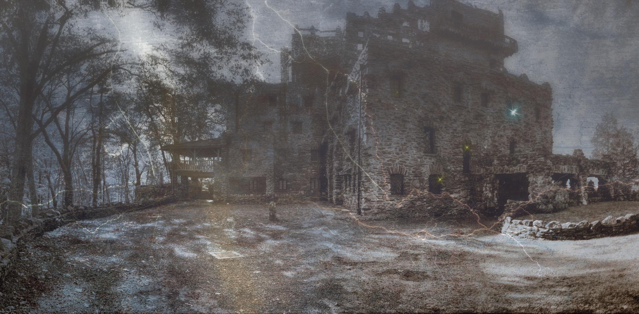 Spooky Castle by ochemodan