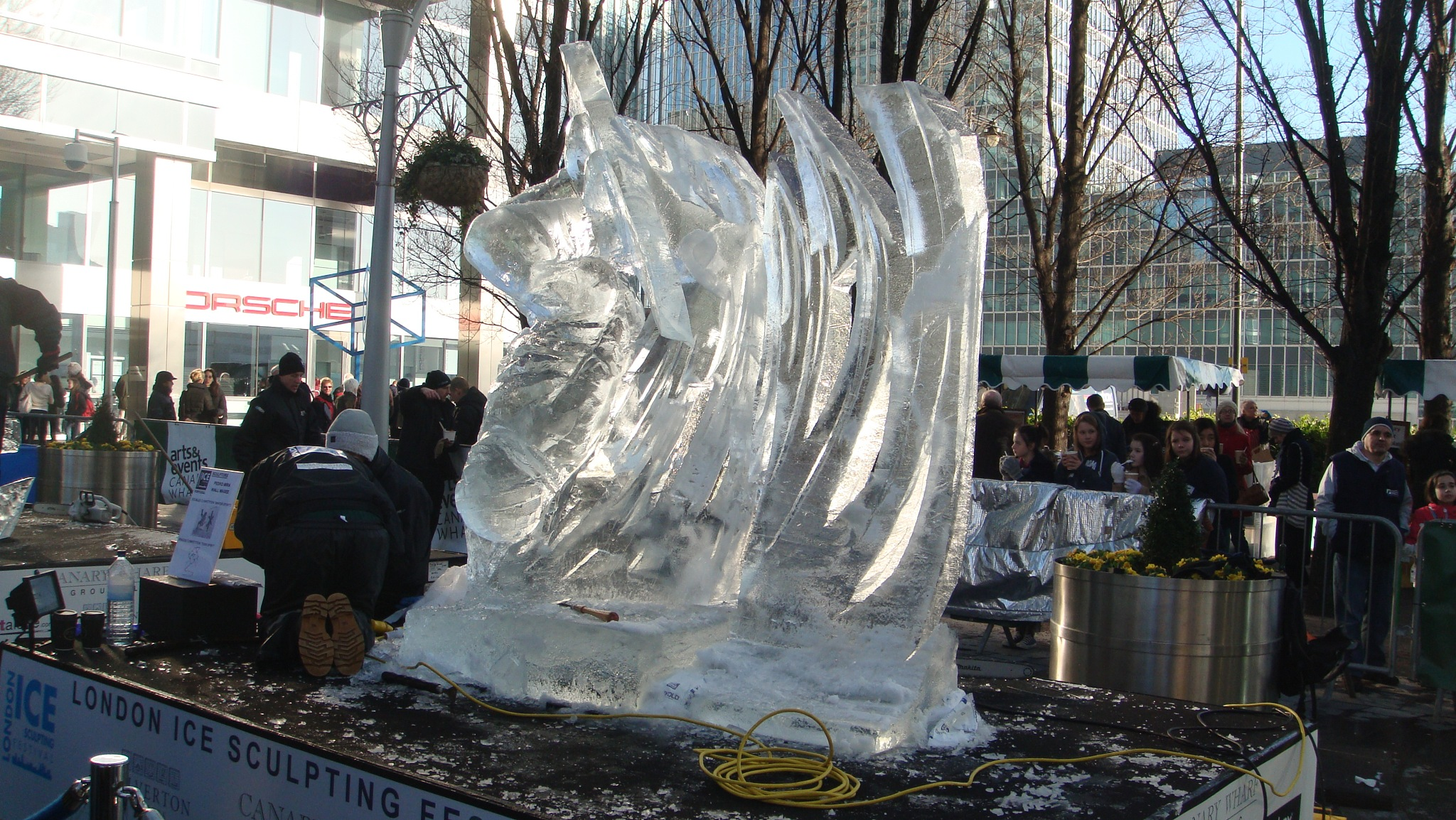 Ice sculpture by gaffer.lyons