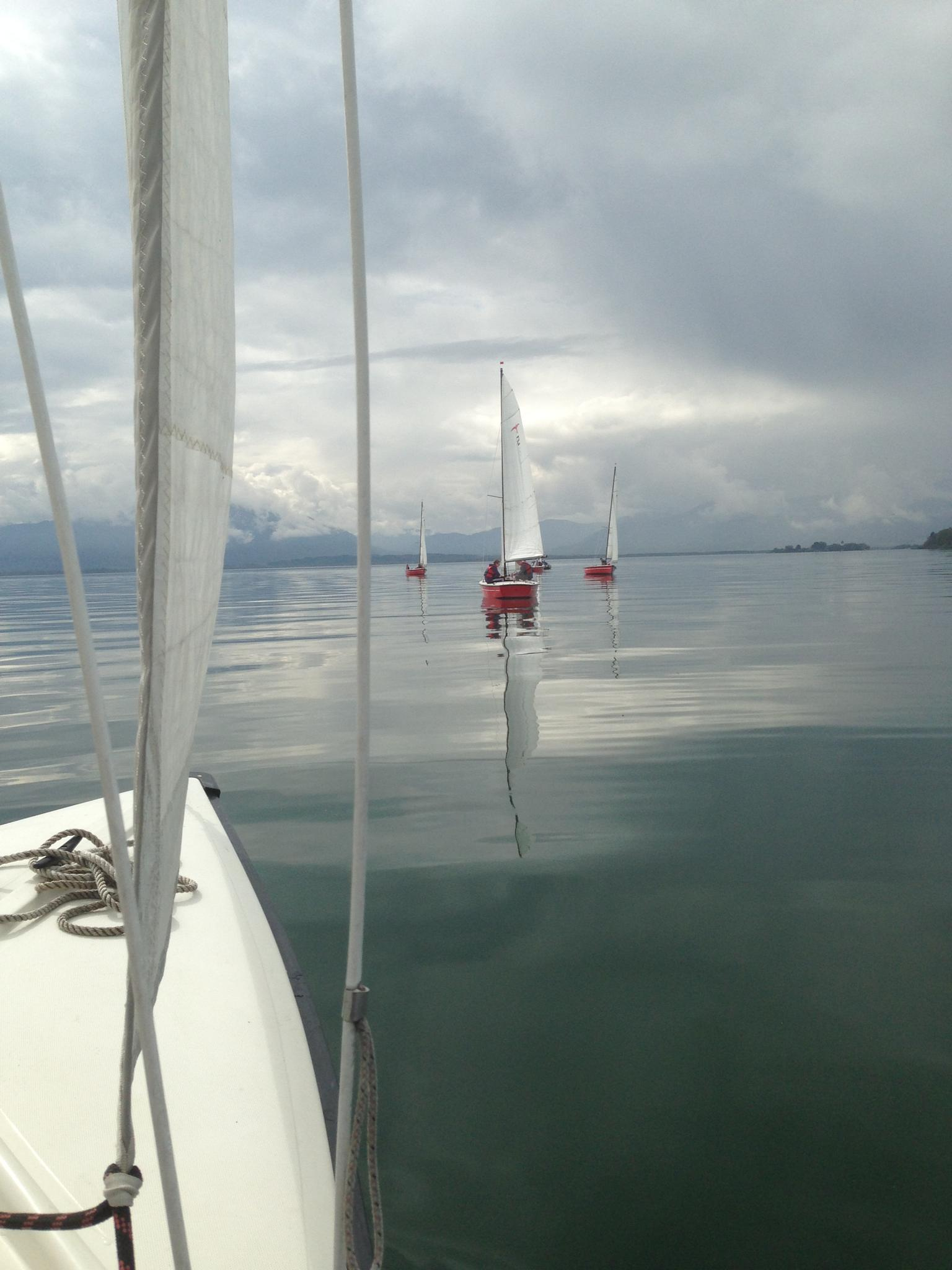 Sailing, Chiemsee by GabrieleHeiss