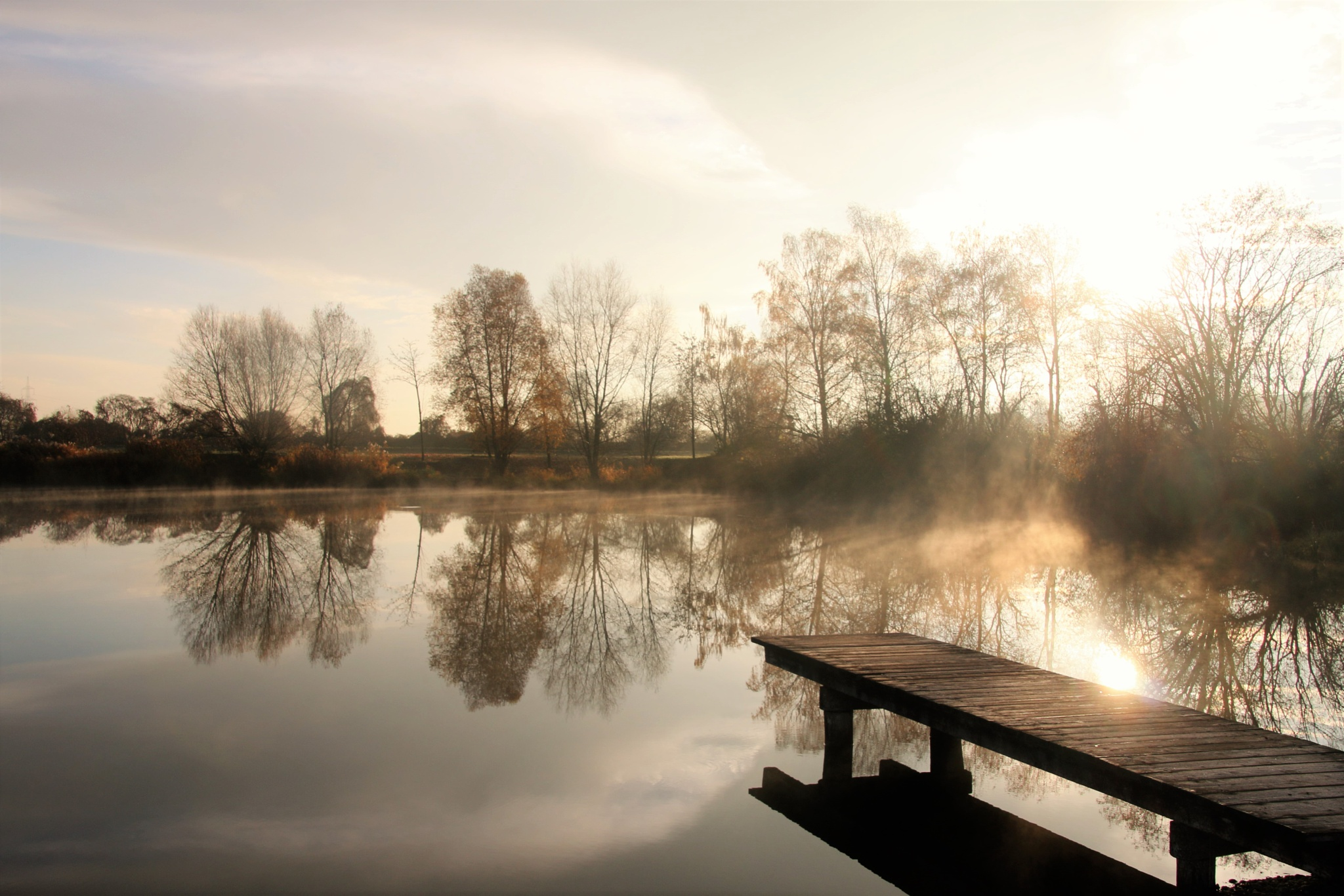 In the early november morning by GabrieleHeiss
