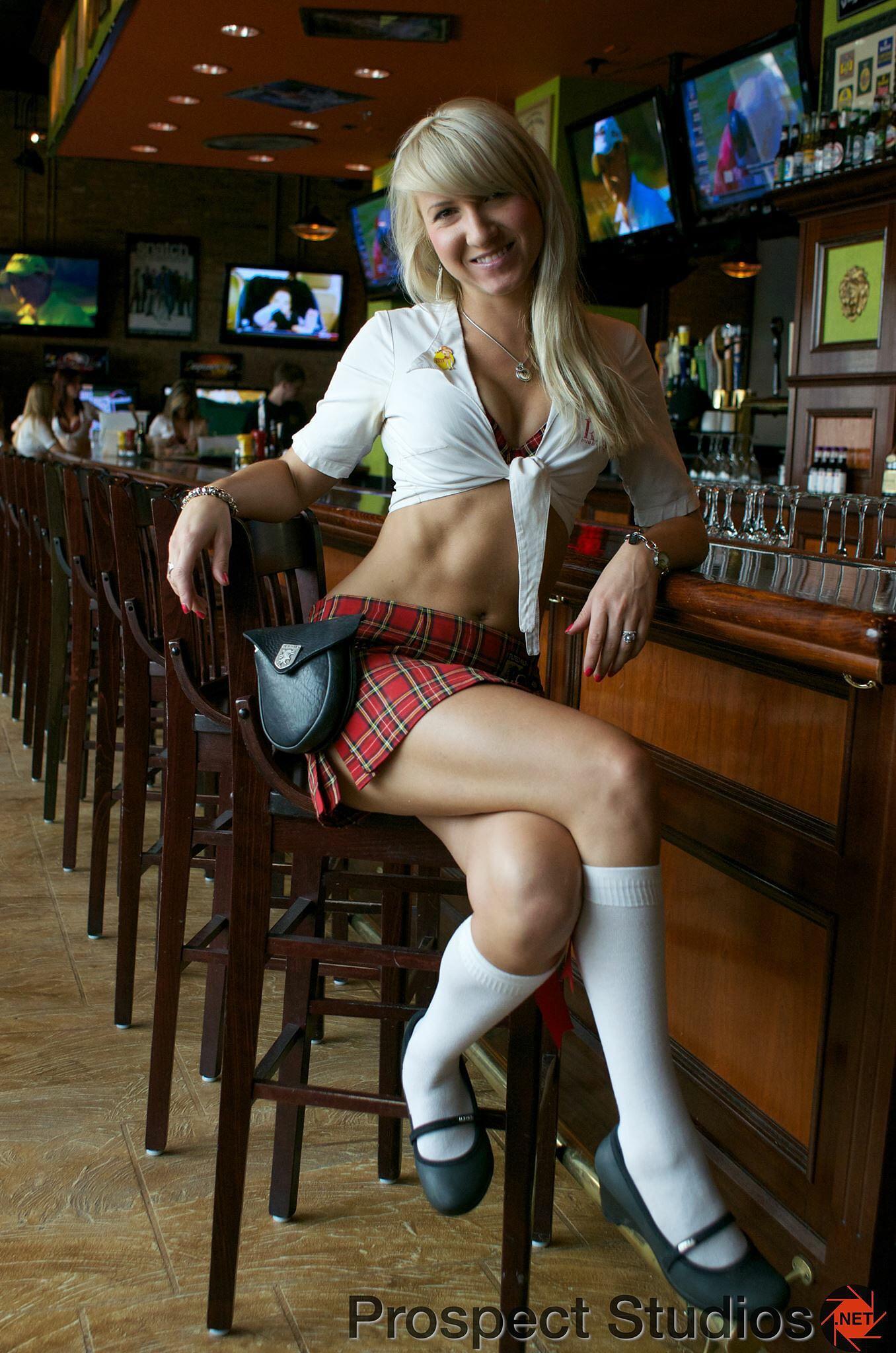 The Waitress by Adam Panek