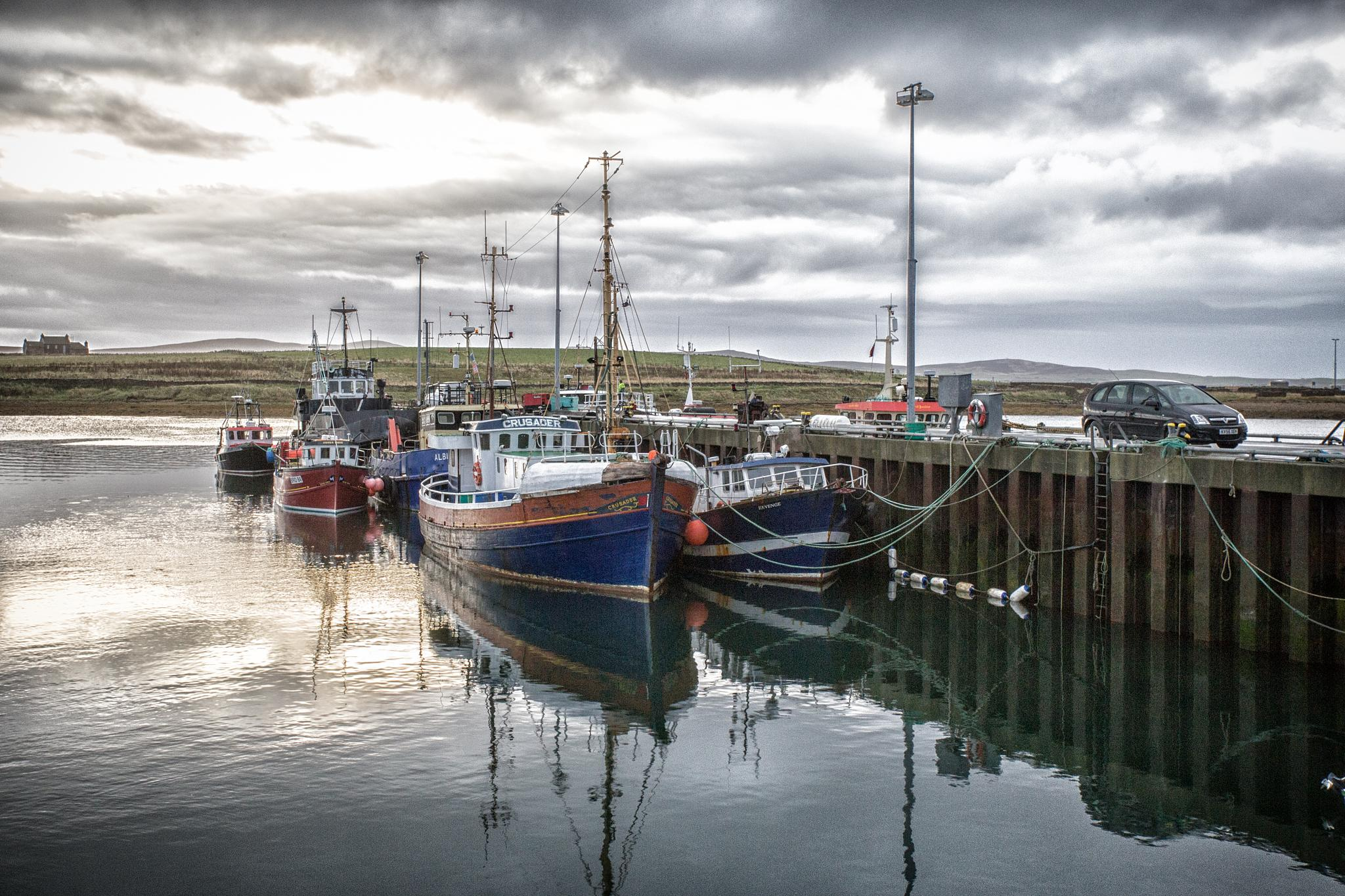 Early morning, Stromness Harbour by isegarth