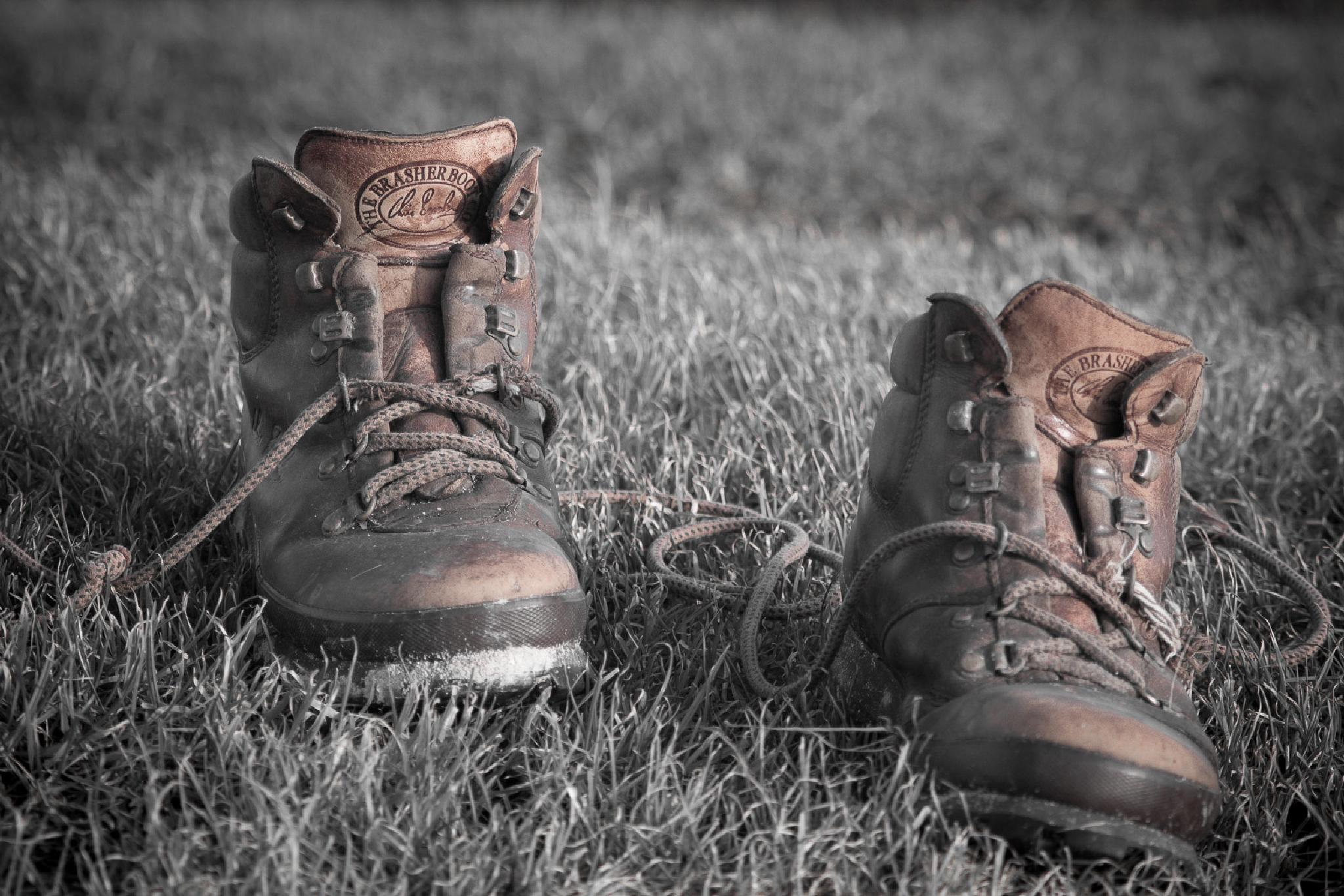 These boots were made for walking by isegarth