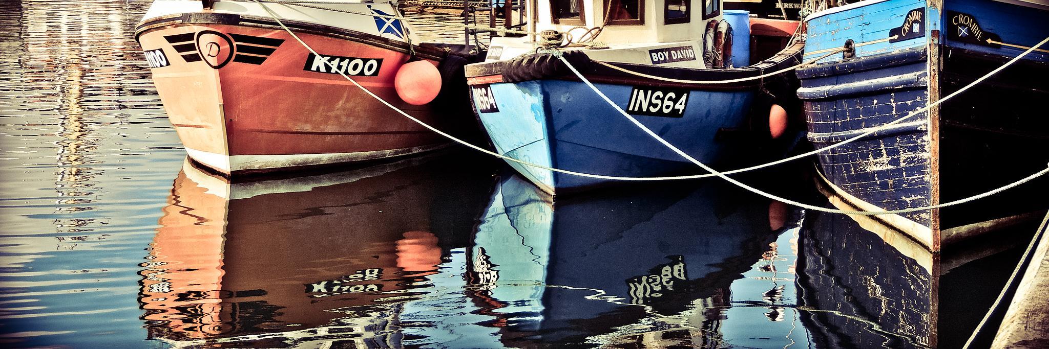 Kirkwall Harbour by isegarth