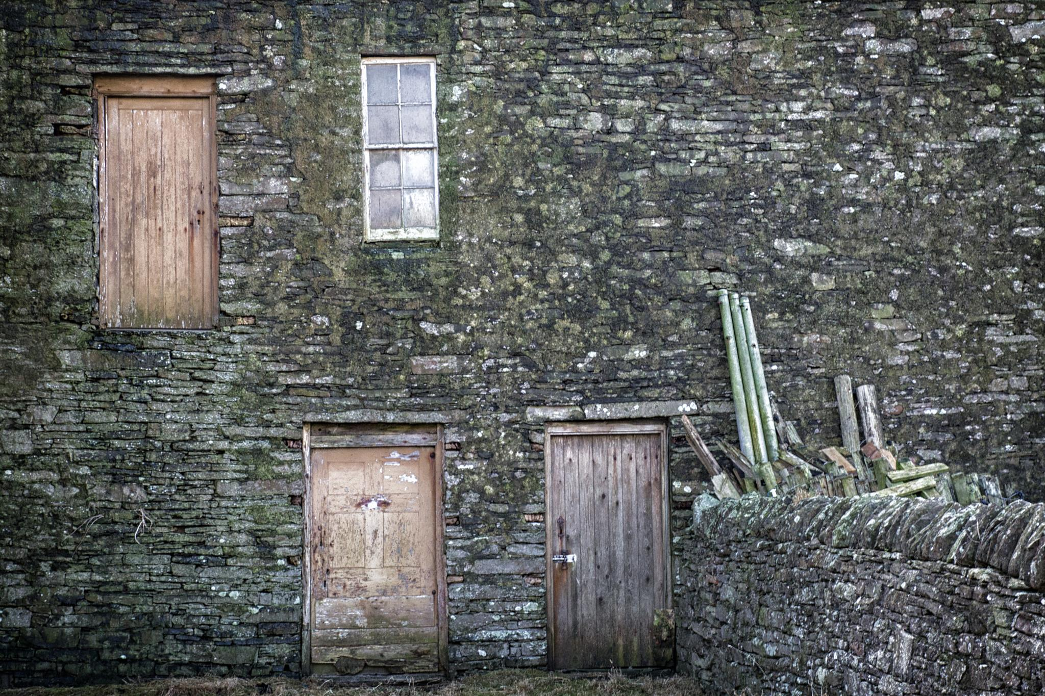 Doors and window at Scar House by isegarth