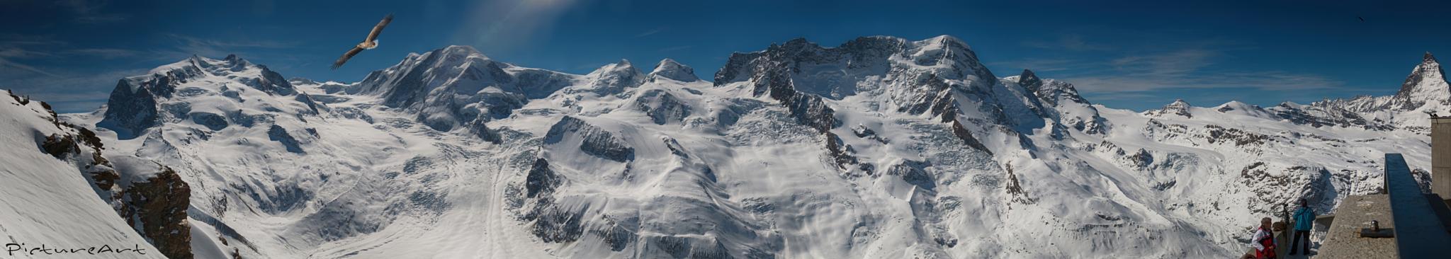 3100 Meter Gornergrat , Zermatt, Switzerland by PictureArt by Steven Schiller