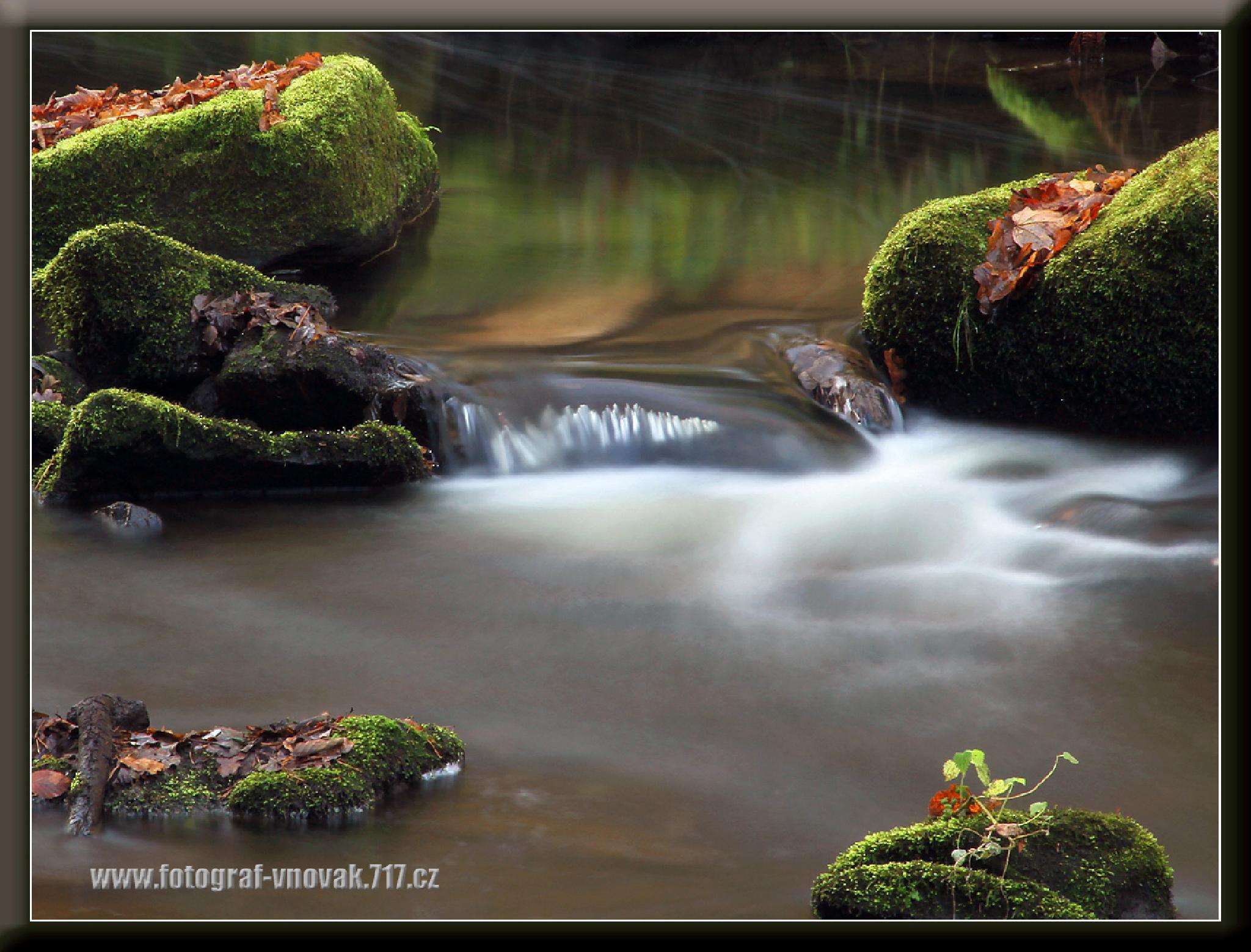 River Stropnice 2 by Vladimír Novák