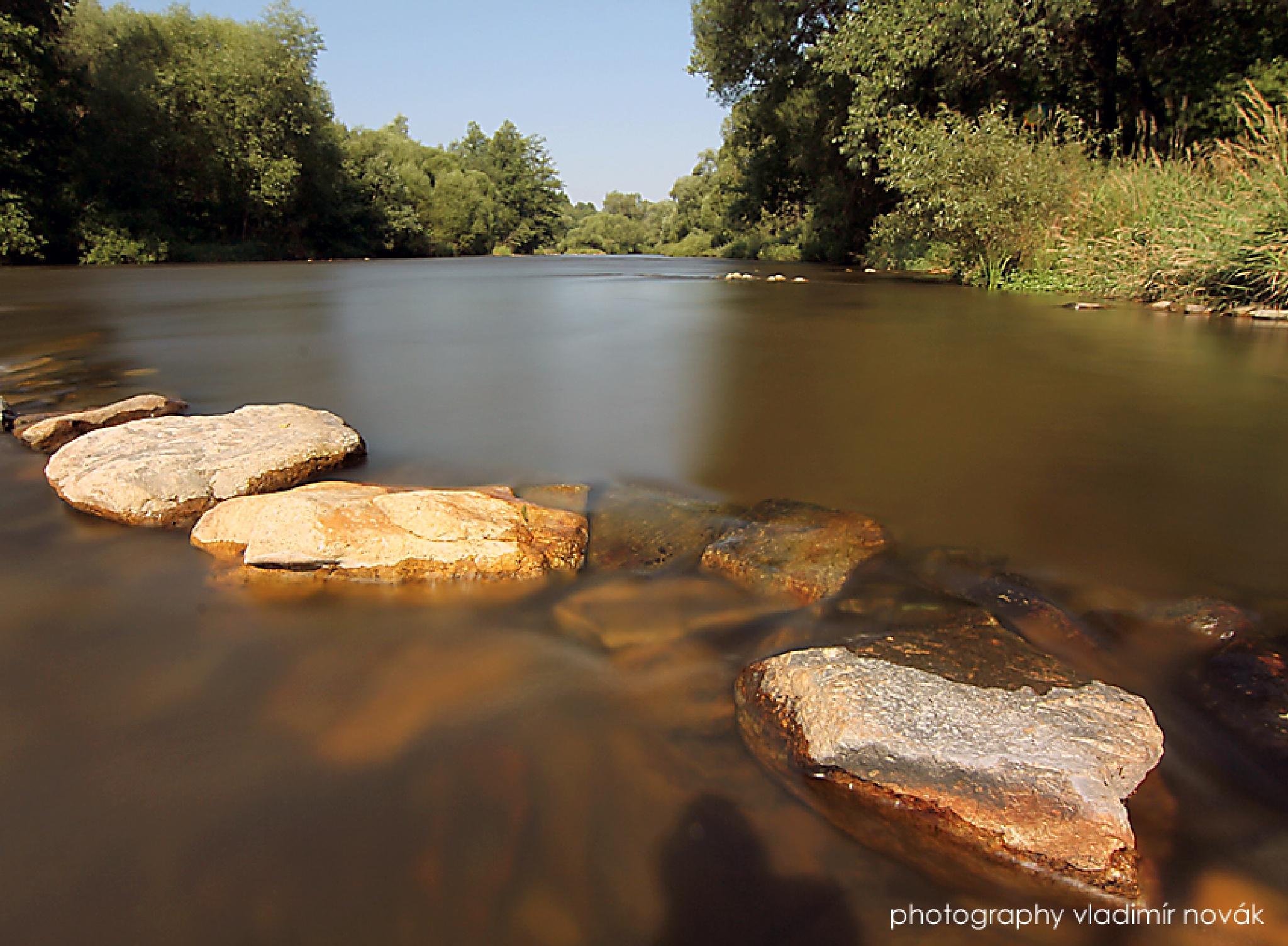River Vltava Czech Republic by Vladimír Novák
