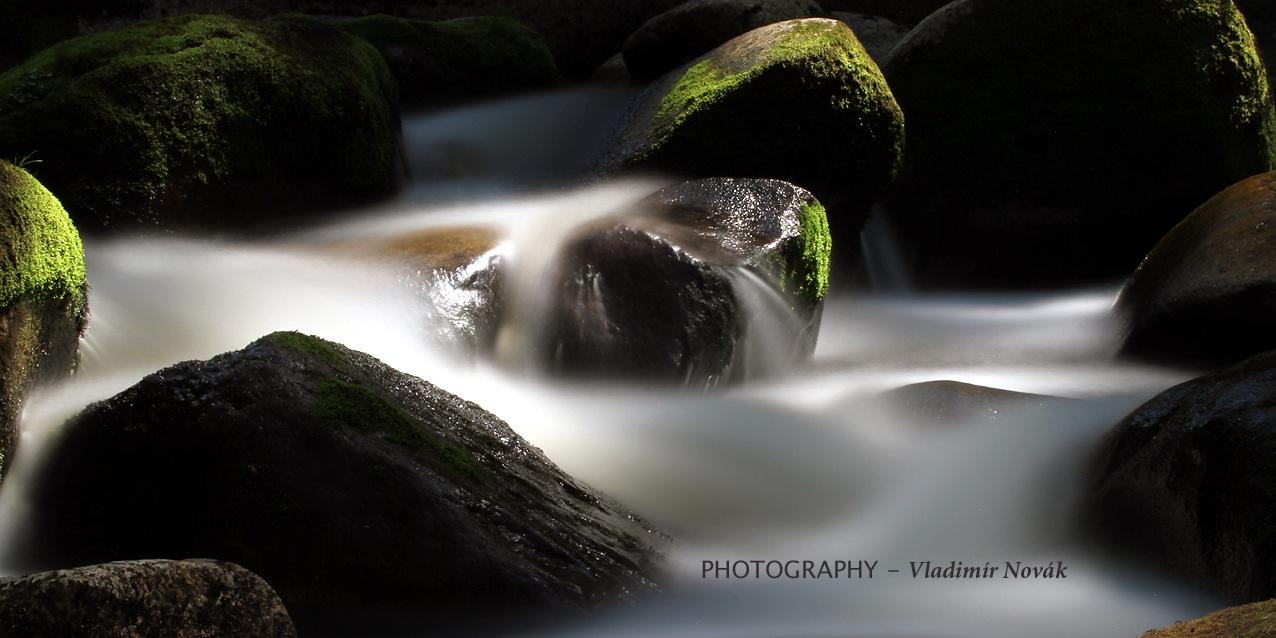 River Vydra - 7 by Vladimír Novák