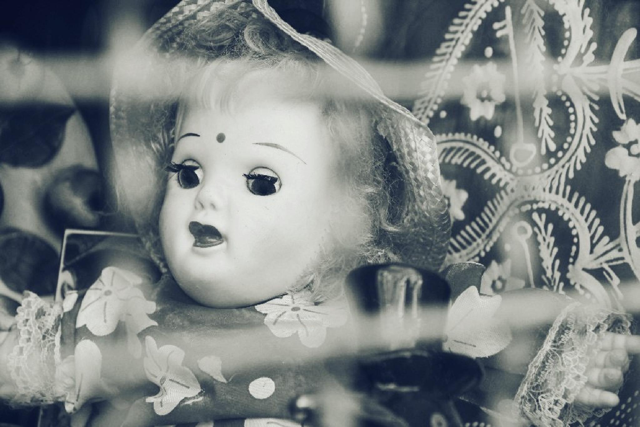 Doll in prison by Helena Lagartinho