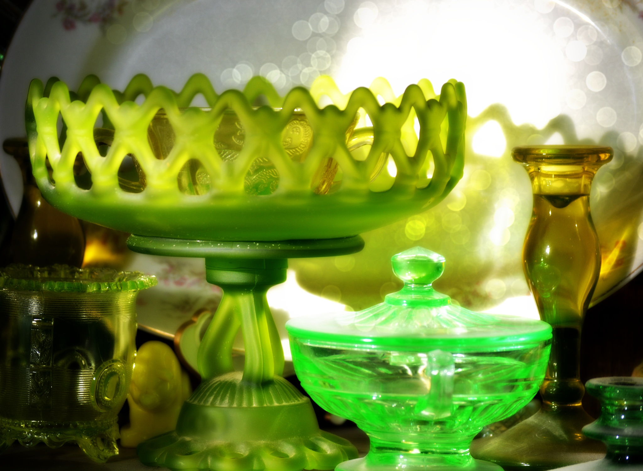 Green Glass by Luvia42