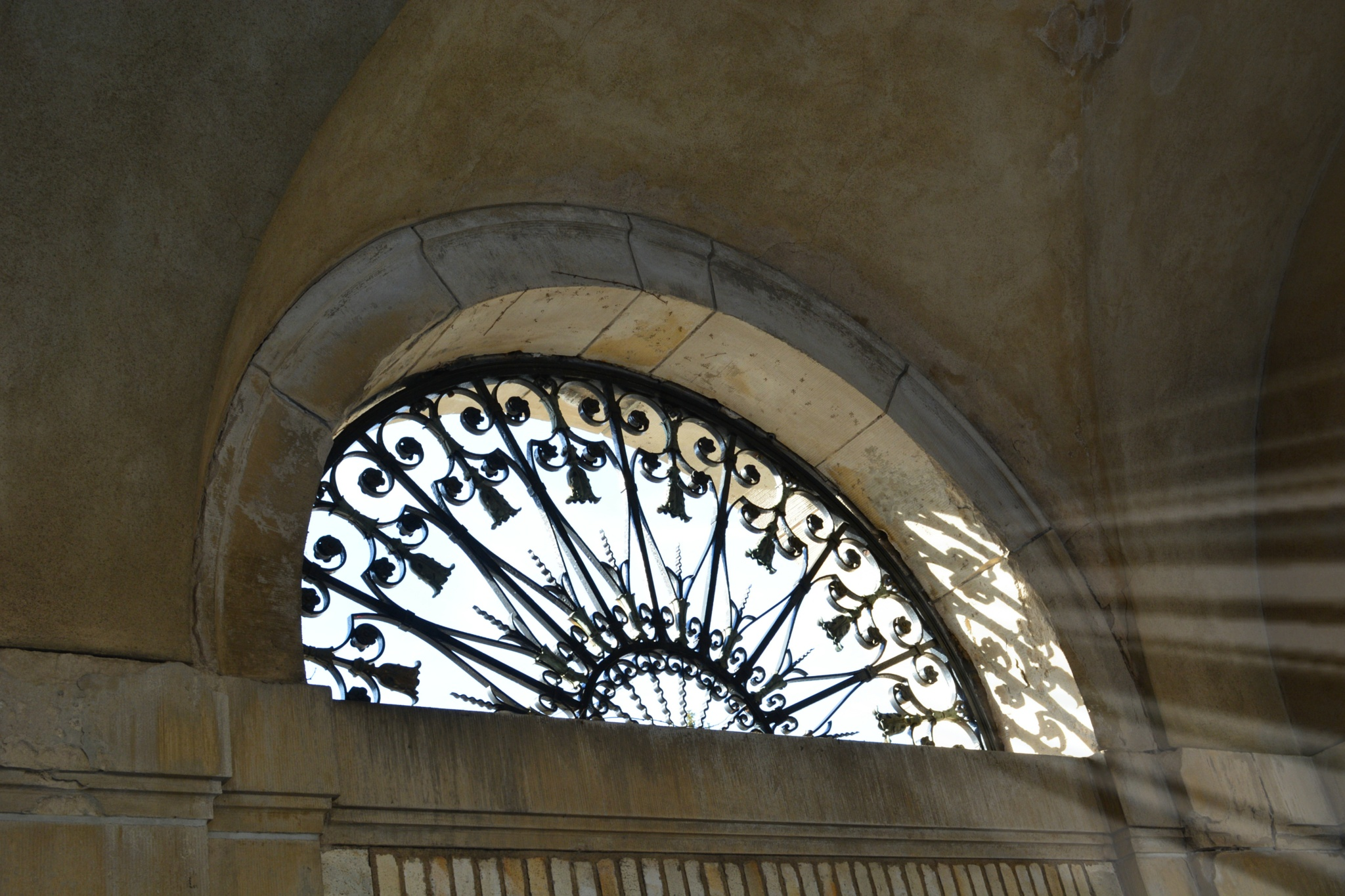 Wrought Iron Window Grill by Luvia42