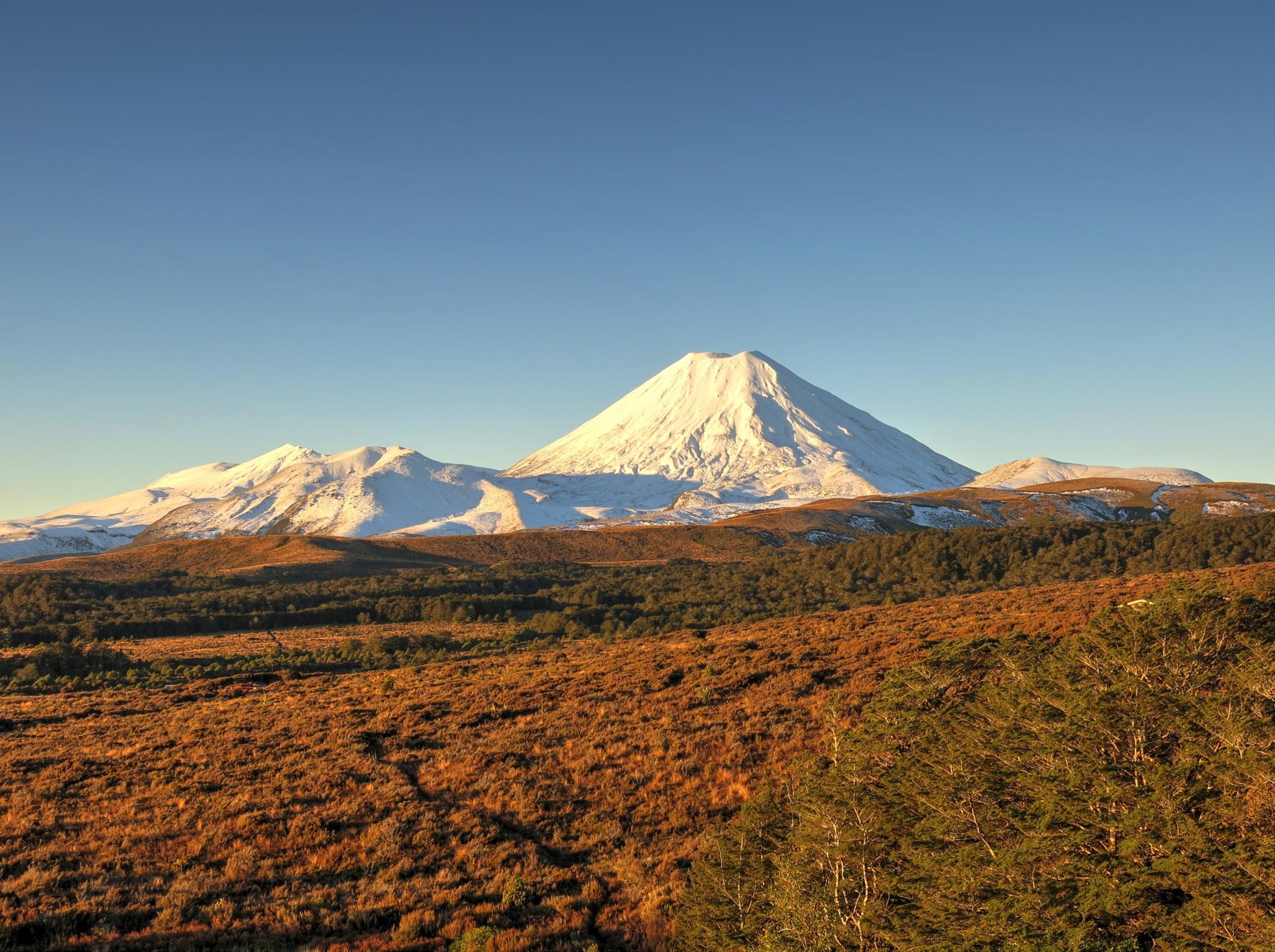 Mt Ngaurahoe by Dan Brough