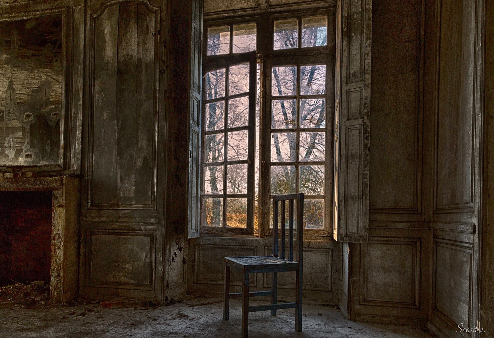 Fenêtre sur Nature ... by Camille Sensitiv