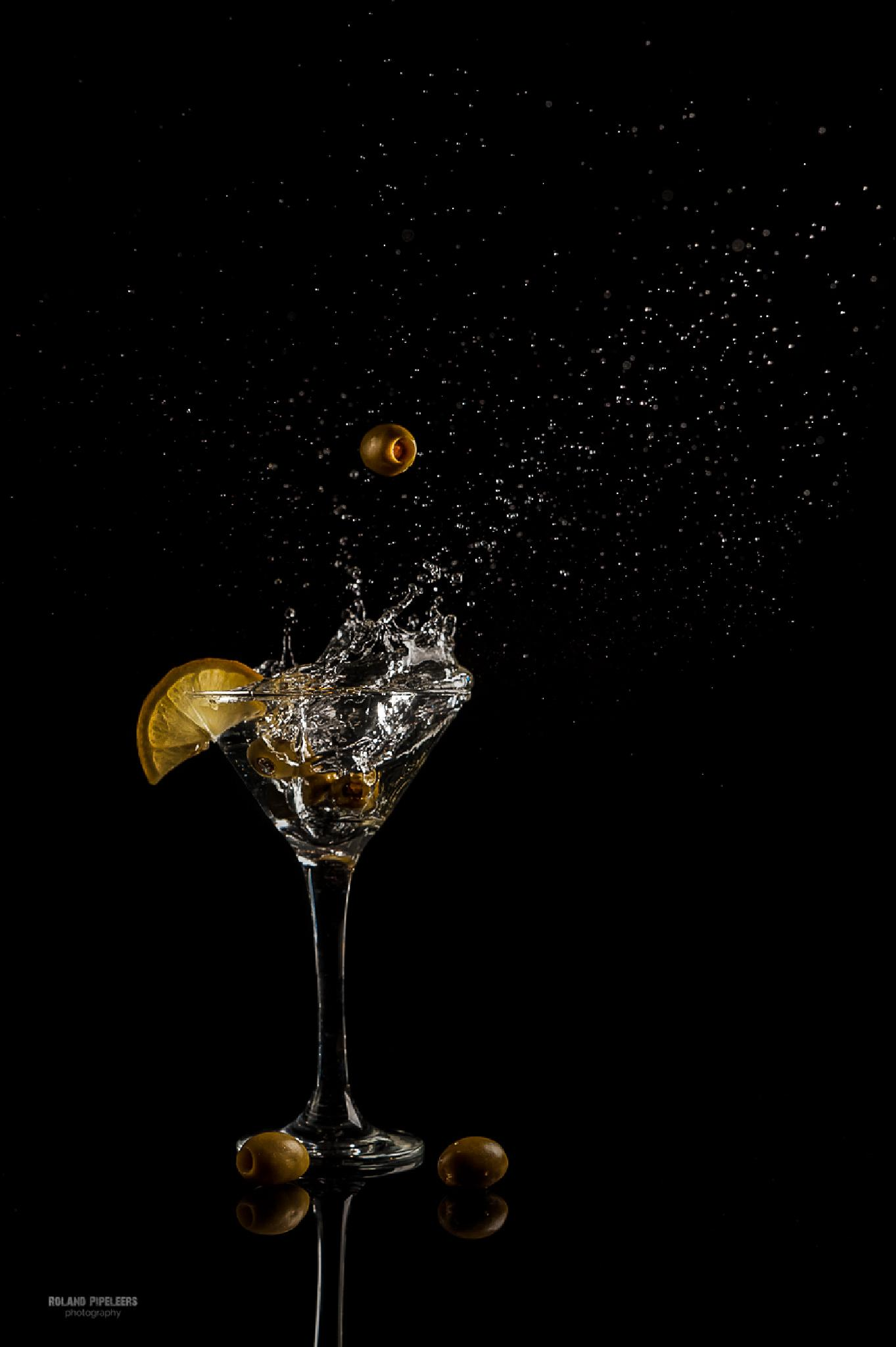 Martini olive by Roland Pipeleers