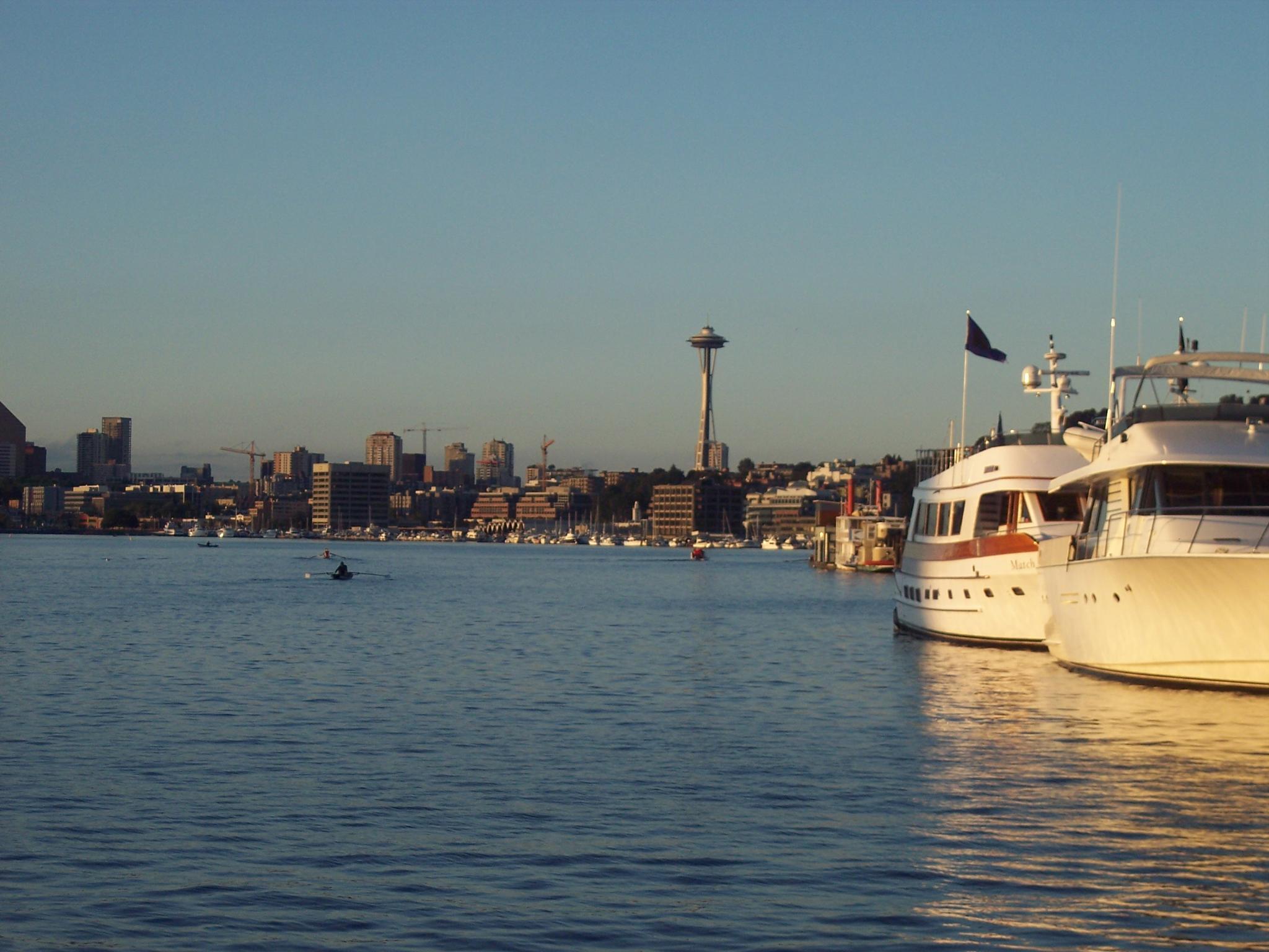 Seattle ~ Lake Washington by Dee