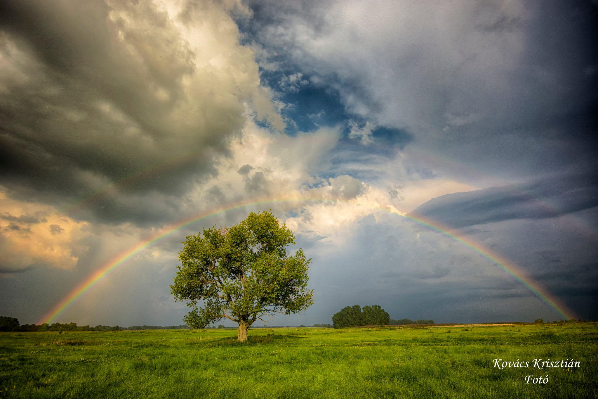 below the rainbow by Kovacs Krisztian