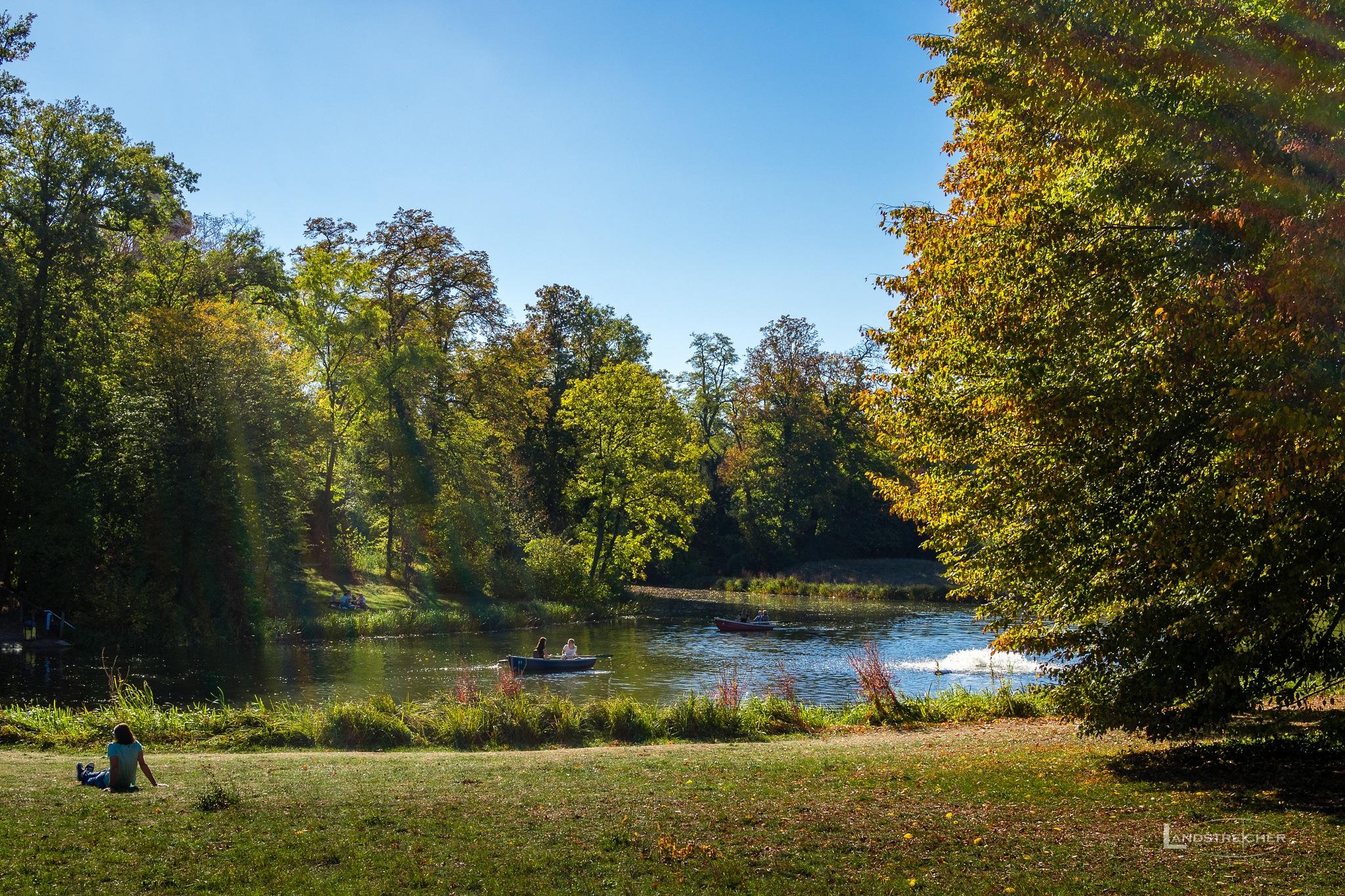 Boat Ride in Autumn by Landstreicher
