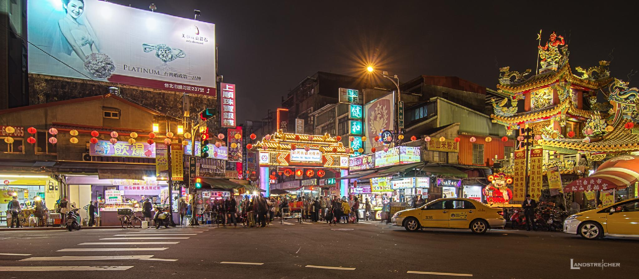 Raohe Night Market by Landstreicher