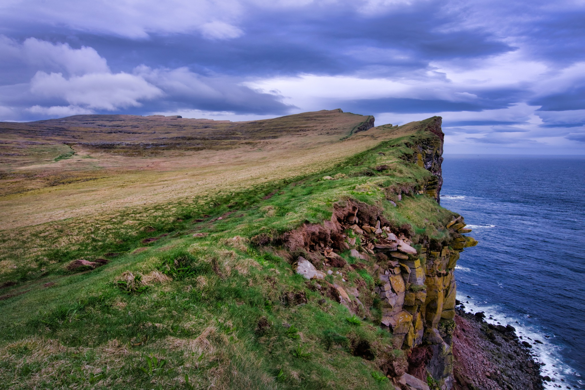 The Edge of Iceland by Tim Martin