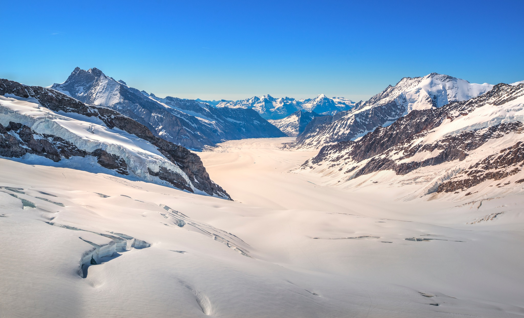 Ice Fields in Switzerland by Tim Martin